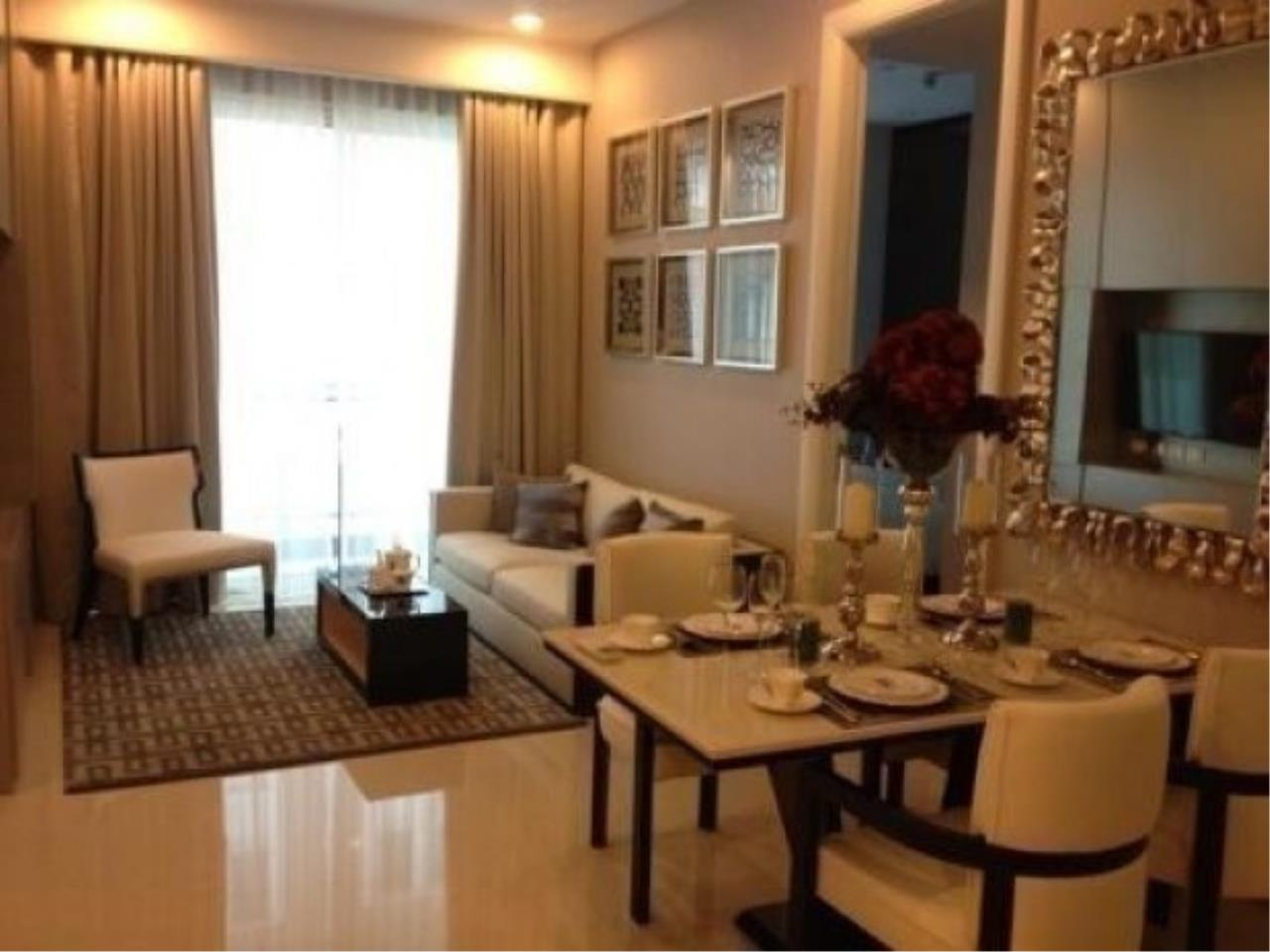 The One Residence Agency's condominium for rent at Q Langsuan , 2BR , 2BA , 83SQM 5