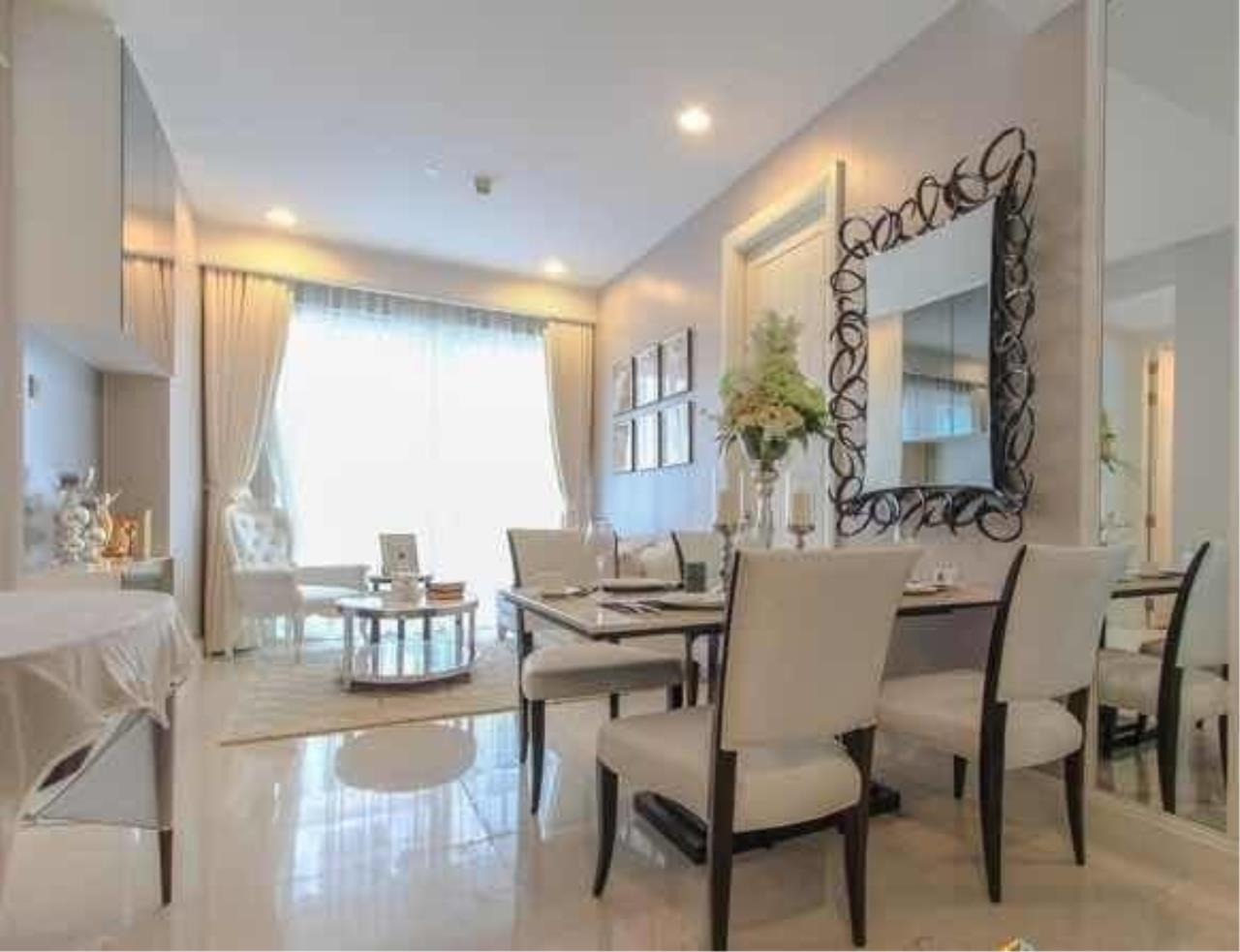 The One Residence Agency's condominium for rent at Q Langsuan , 2BR , 2BA , 73SQM 1