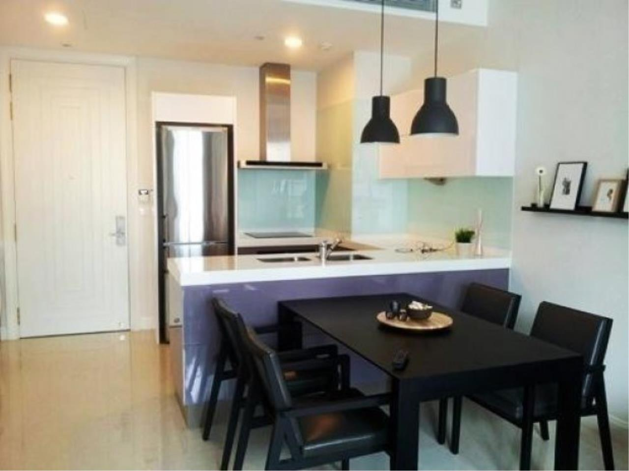 The One Residence Agency's condominium for rent at Q Langsuan , 2BR , 2BA , 80SQM 3