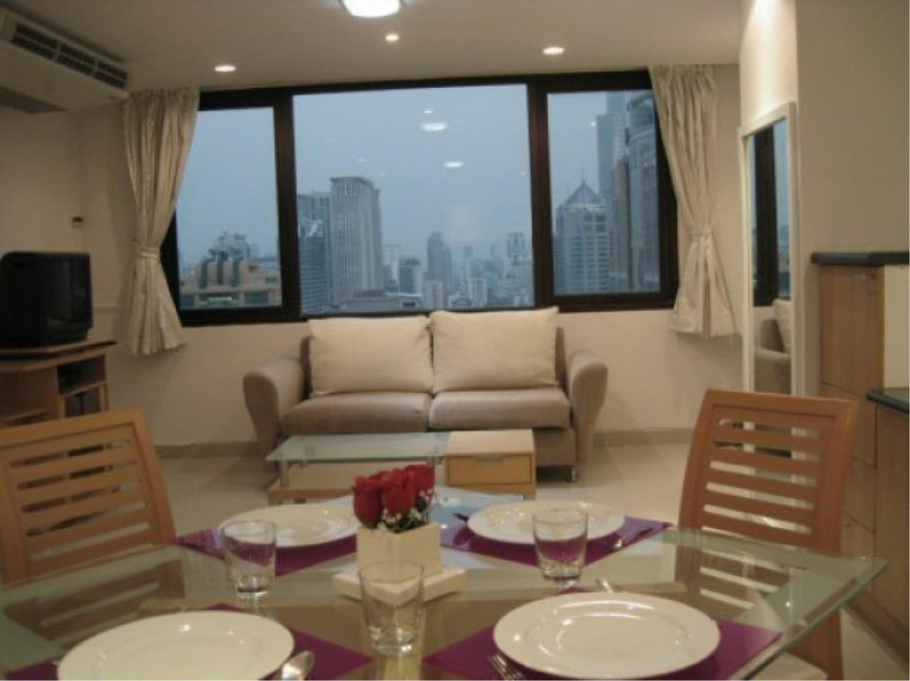 The One Residence Agency's condominium for rent at Regent Royal Place 1 , 1BR , 1BA , 65SQM 4
