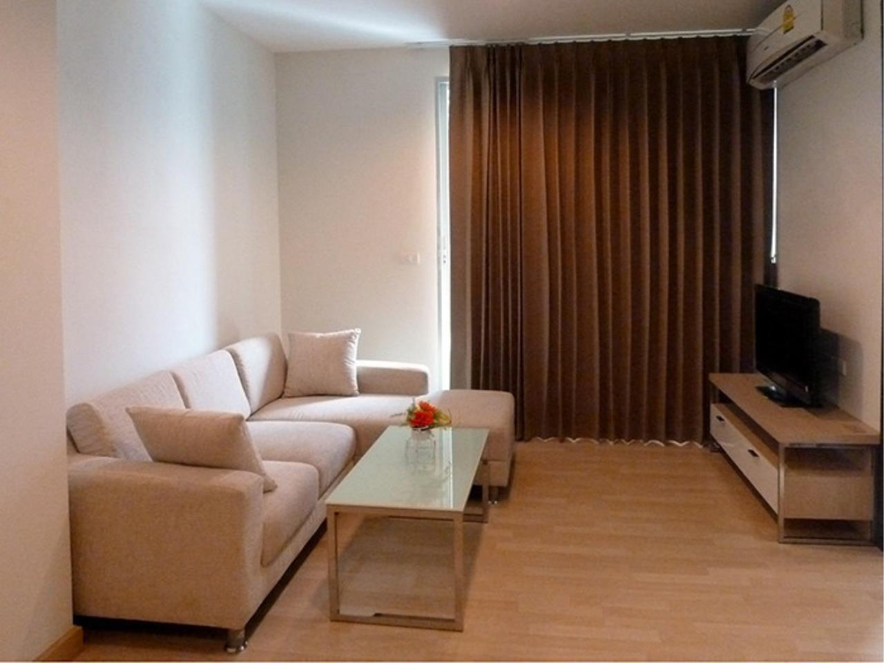 The One Residence Agency's condominium for rent at Rhythm Ratchada , 1BR , 1BA , 45SQM 3