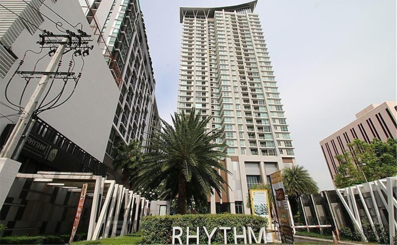 The One Residence Agency's condominium for rent at Rhythm Ratchada - Huai Khwang , 1BR , 1BA , 35SQM 1
