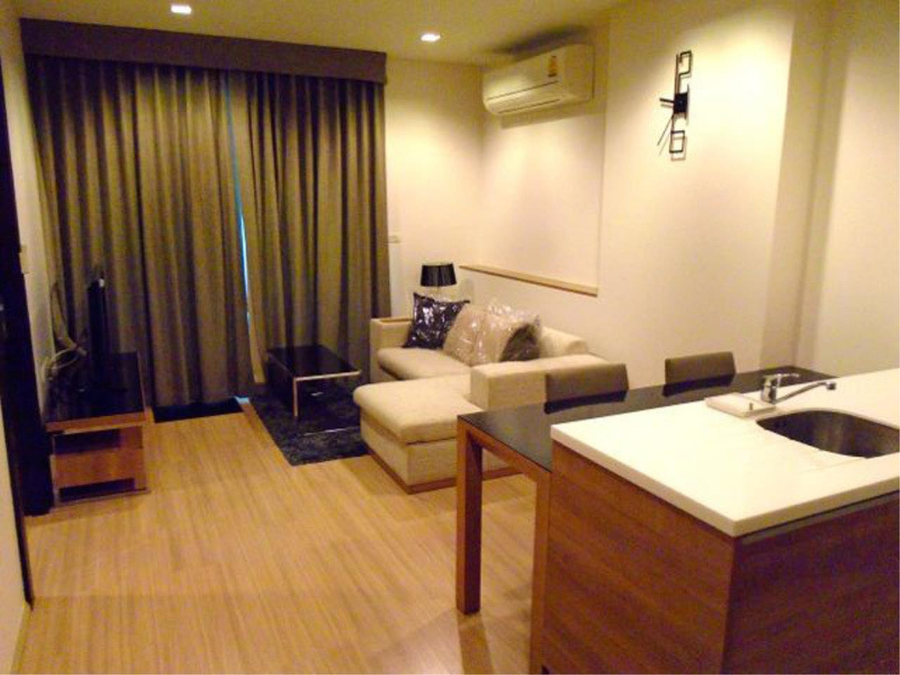 The One Residence Agency's condominium for rent at Rhythm Ratchada - Huai Khwang , 1BR , 1BA , 46SQM 1