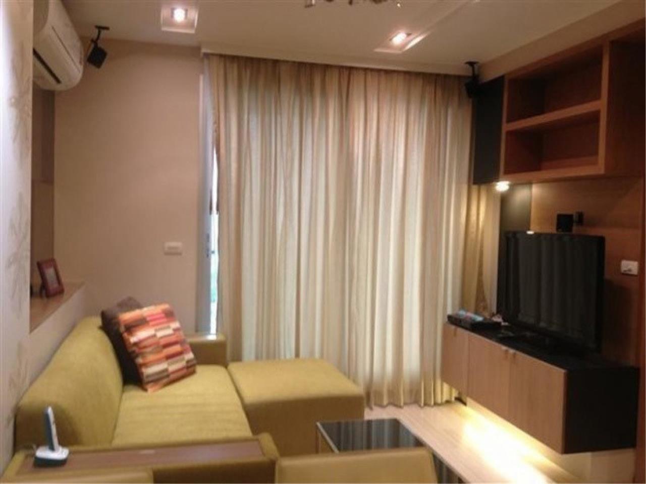 The One Residence Agency's condominium for rent at Rhythm Ratchada - Huai Khwang , 1BR , 1BA , 46SQM 1