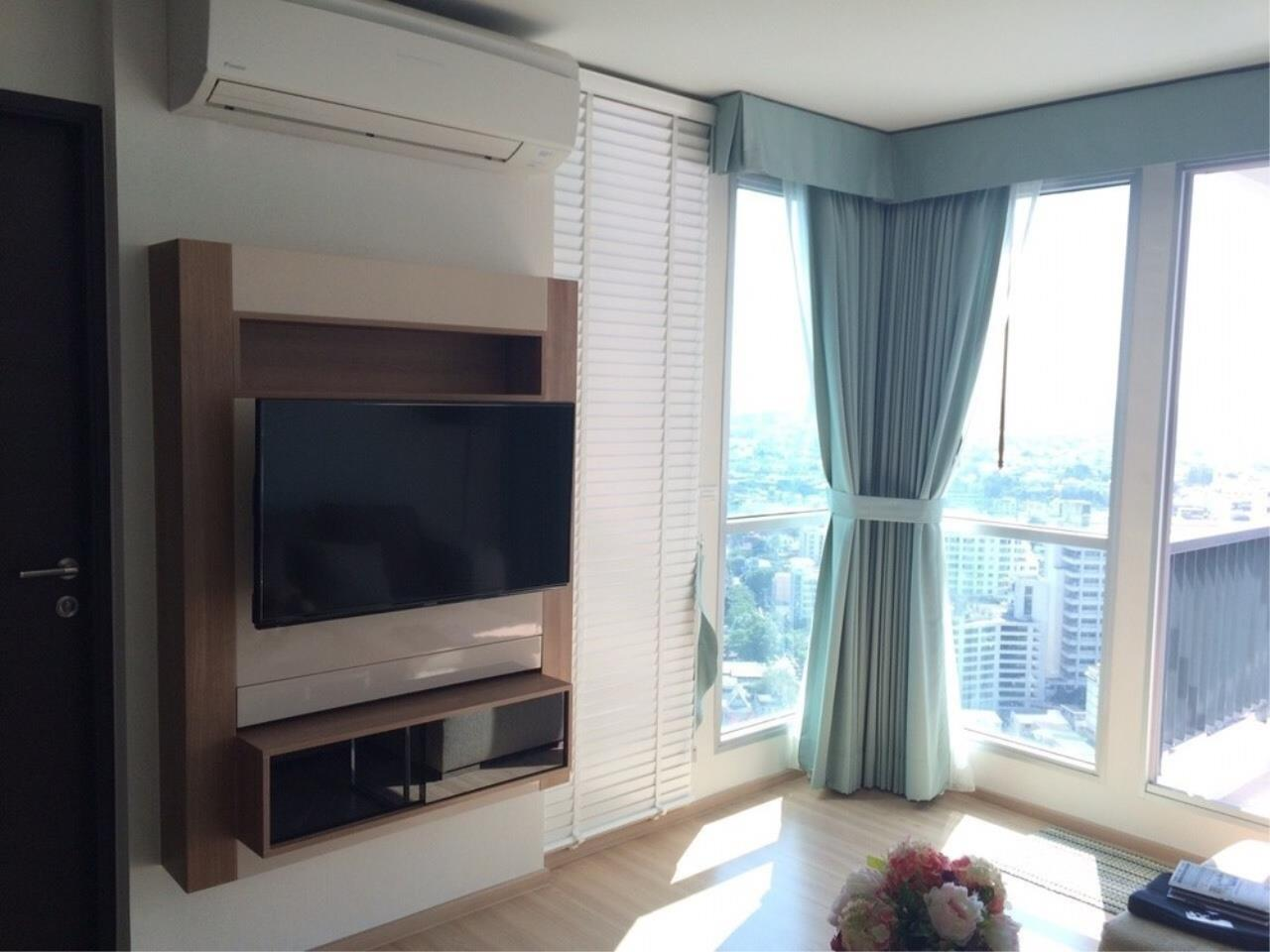 The One Residence Agency's condominium for rent at Rhythm Sathorn , 2BR , 2BA , 63SQM 2
