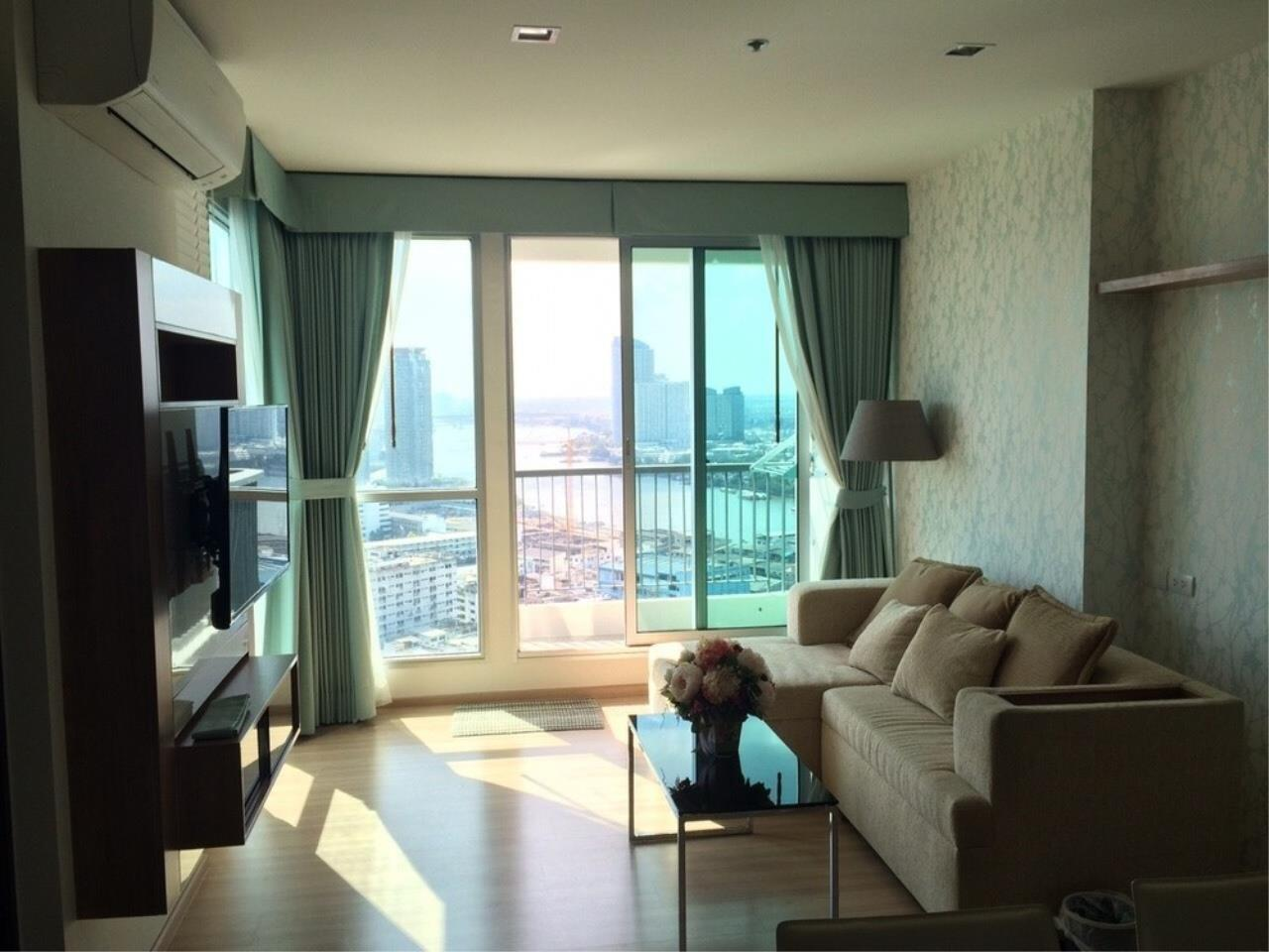 The One Residence Agency's condominium for rent at Rhythm Sathorn , 2BR , 2BA , 63SQM 3