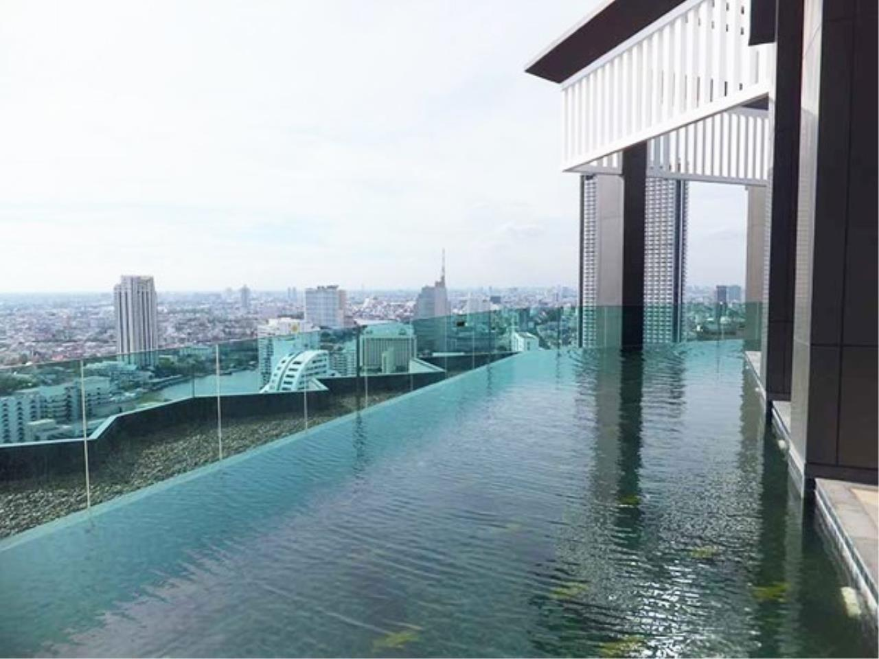 The One Residence Agency's condominium for rent at Rhythm Sathorn , 2BR , 2BA , 60SQM 1