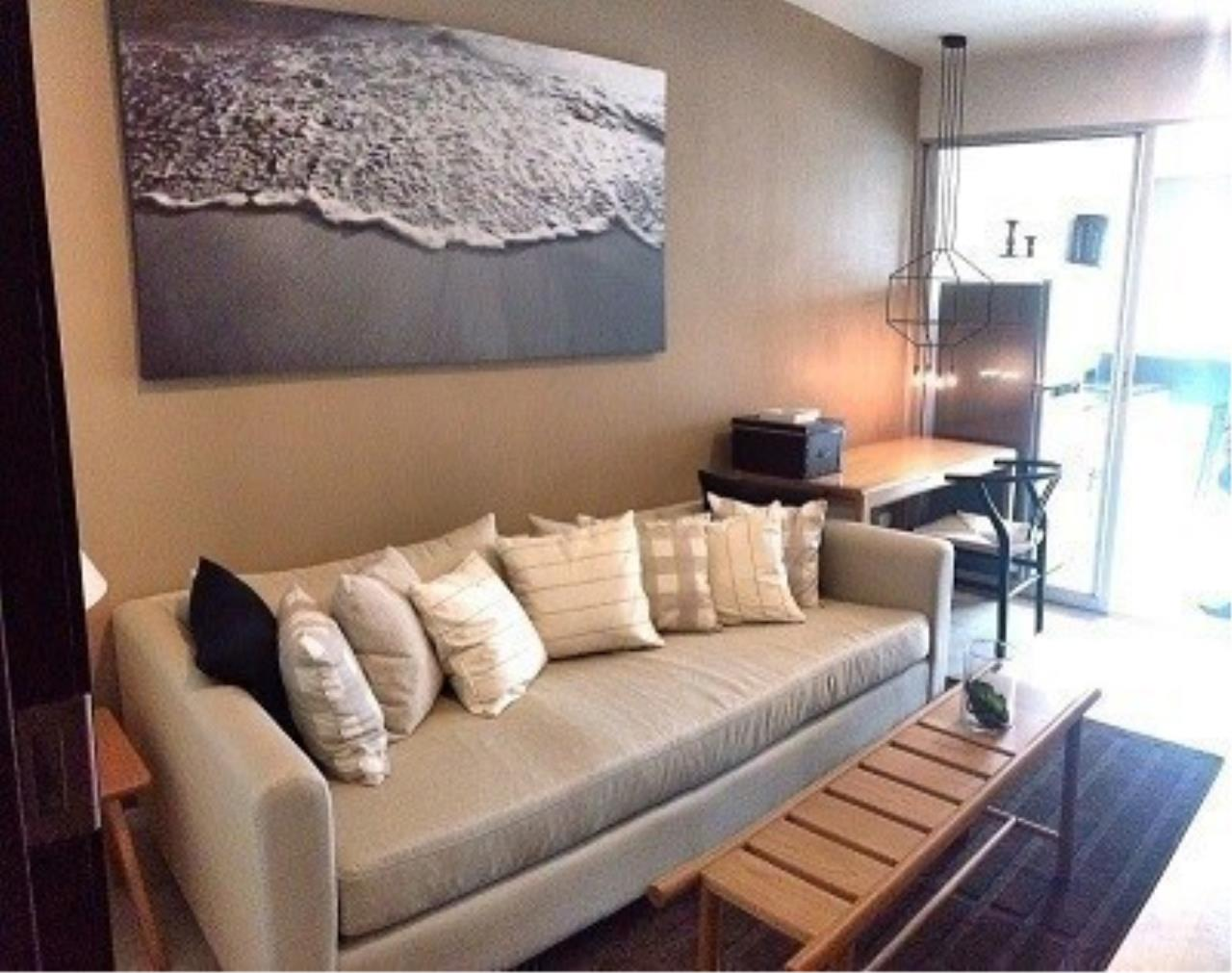 The One Residence Agency's condominium for rent at Rhythm Sathorn - Narathiwas , 1BR , 1BA , 38SQM 1
