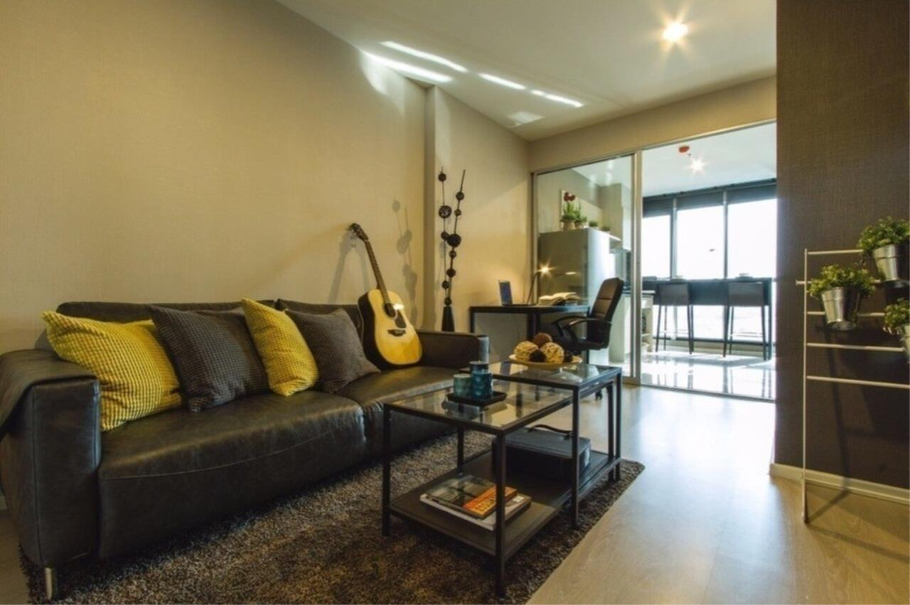 The One Residence Agency's condominium for rent at Rhythm Sathorn - Narathiwas , 1BR , 1BA , 38SQM 5