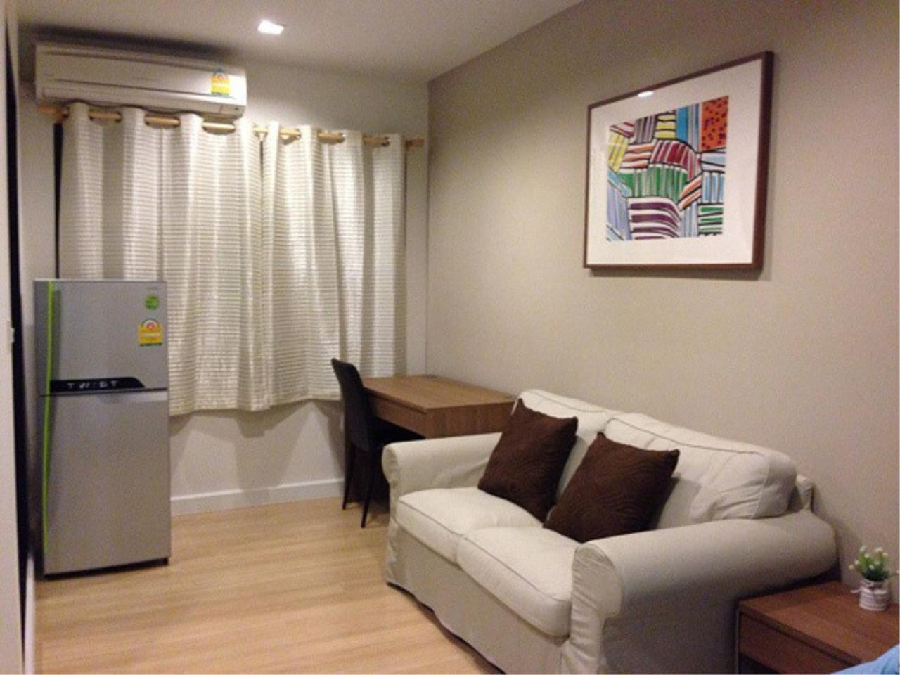 The One Residence Agency's condominium for rent at Pracha Ruamjai Condo Town , 0BR , 1BA , 27SQM 1