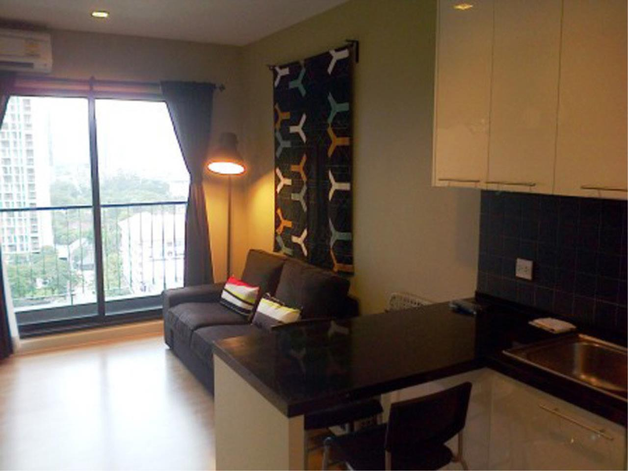 The One Residence Agency's condominium for rent at Pracha Ruamjai Condo Town , 1BR , 1BA , 44SQM 1