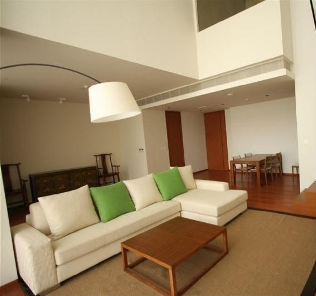 The One Residence Agency's condominium for rent at The Sukhothai Residences , 1BR , 2BA , 139SQM 2