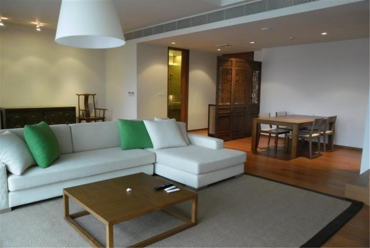 The One Residence Agency's condominium for rent at The Sukhothai Residences , 1BR , 2BA , 139SQM 1