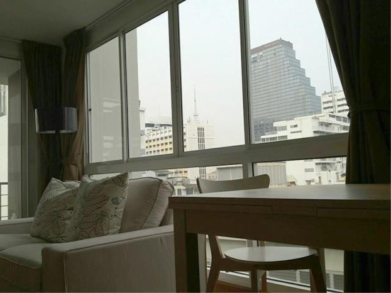 The One Residence Agency's condominium for rent at The Treasure Silom , 2BR , 2BA , 65SQM 1