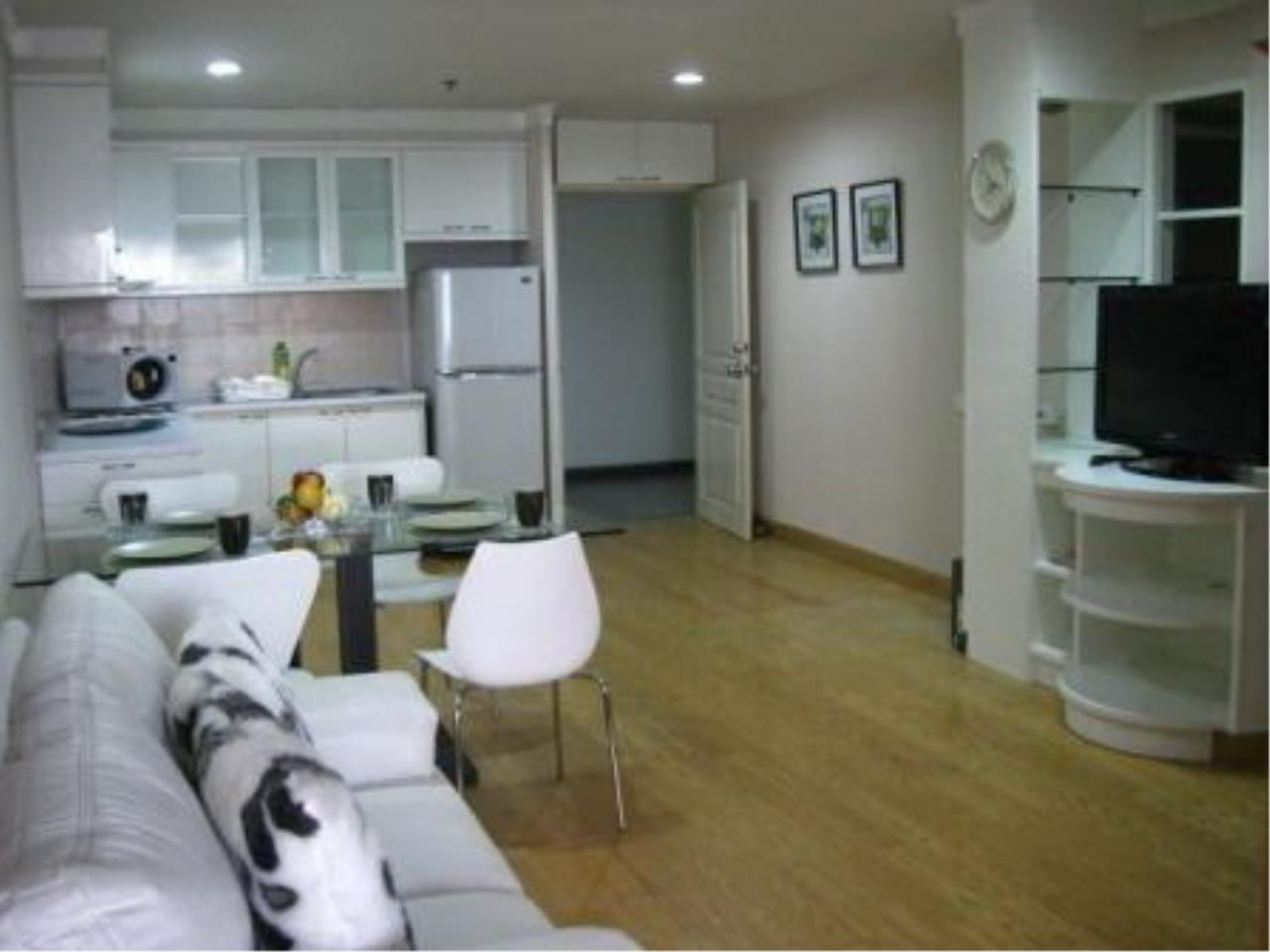 The One Residence Agency's condominium for rent at The Waterford Diamond , 2BR , 1BA , 70SQM 3