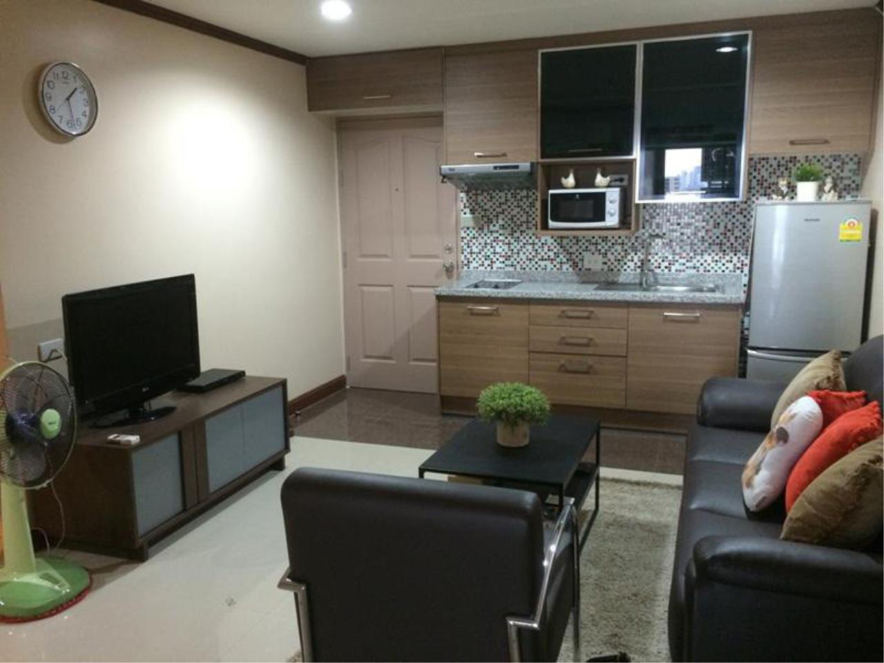 The One Residence Agency's condominium for rent at The Waterford Diamond , 2BR , 1BA , 68SQM 1