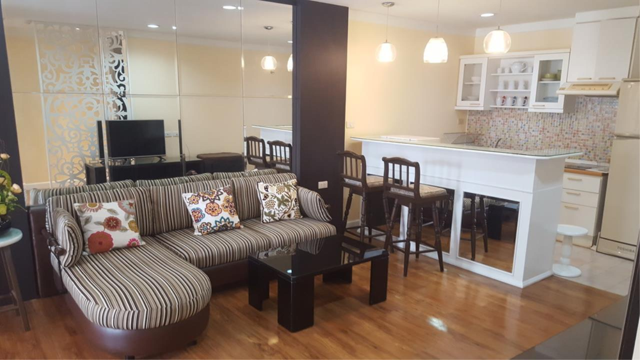 The One Residence Agency's condominium for rent at The Waterford Diamond , 2BR , 1BA , 61SQM 12