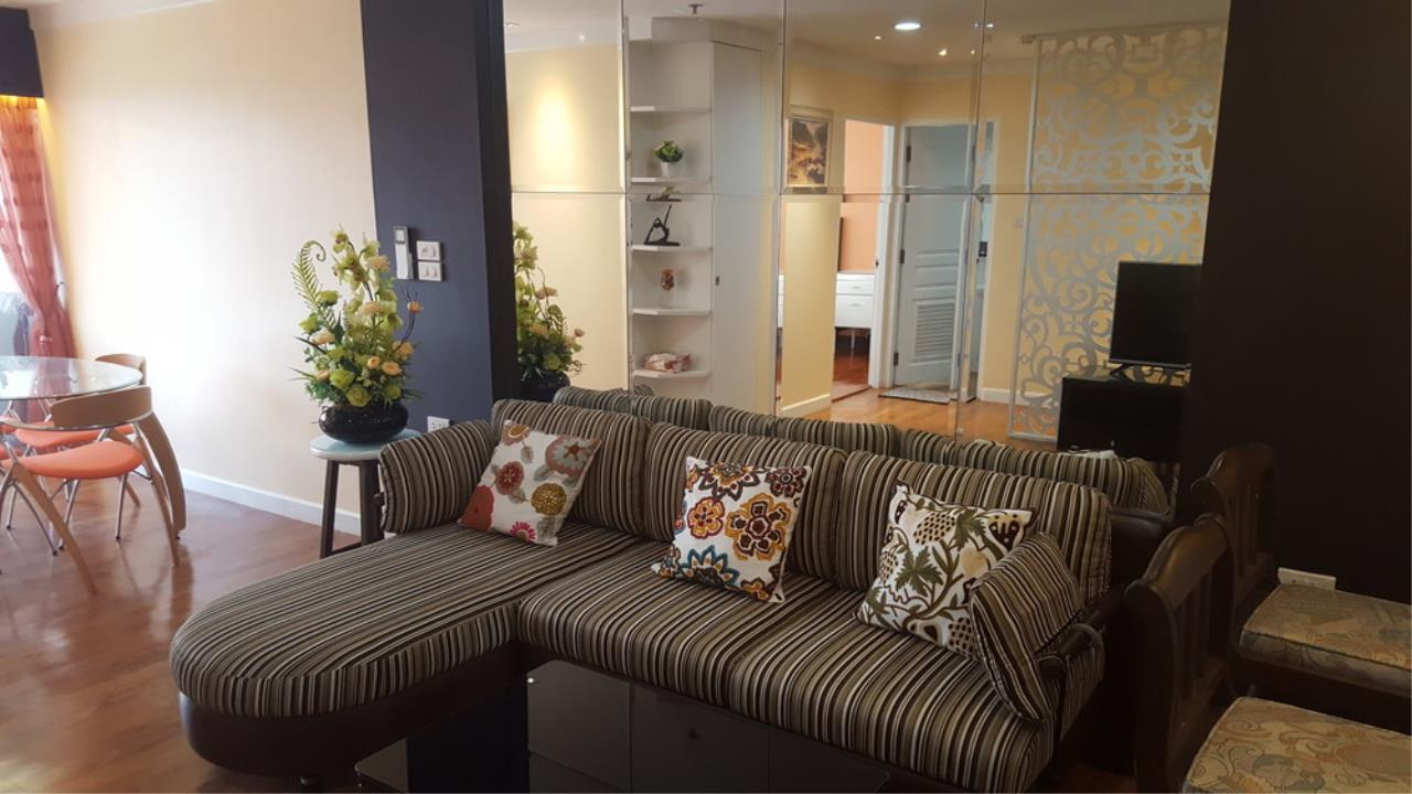 The One Residence Agency's condominium for rent at The Waterford Diamond , 2BR , 1BA , 61SQM 1