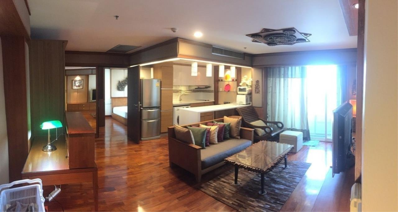 The One Residence Agency's condominium for rent at Urbana Langsuan , 1BR , 1BA , 61SQM 2