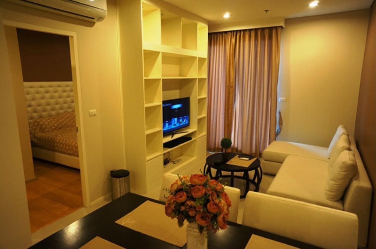 The One Residence Agency's condominium for rent at Villa Asoke , 1BR , 1BA , 48SQM 1