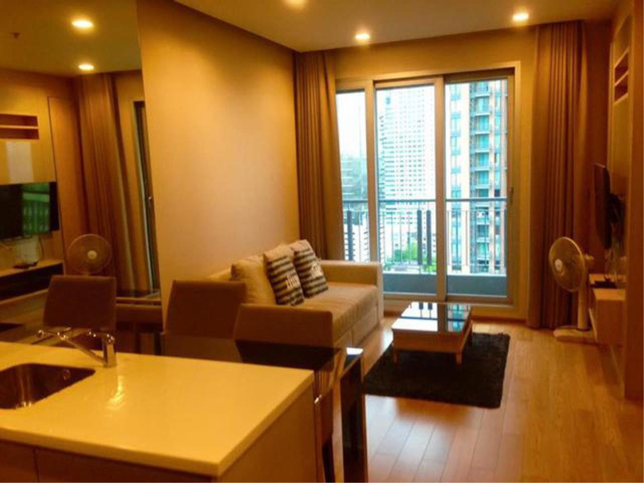The One Residence Agency's condominium for sale , rent at The Address Asoke , 1BR , 1BA , 45SQM 1