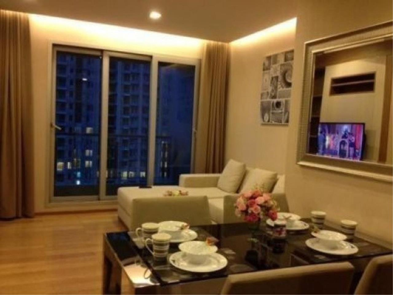 The One Residence Agency's condominium for sale , rent at The Address Asoke , 2BR , 2BA , 65SQM 1