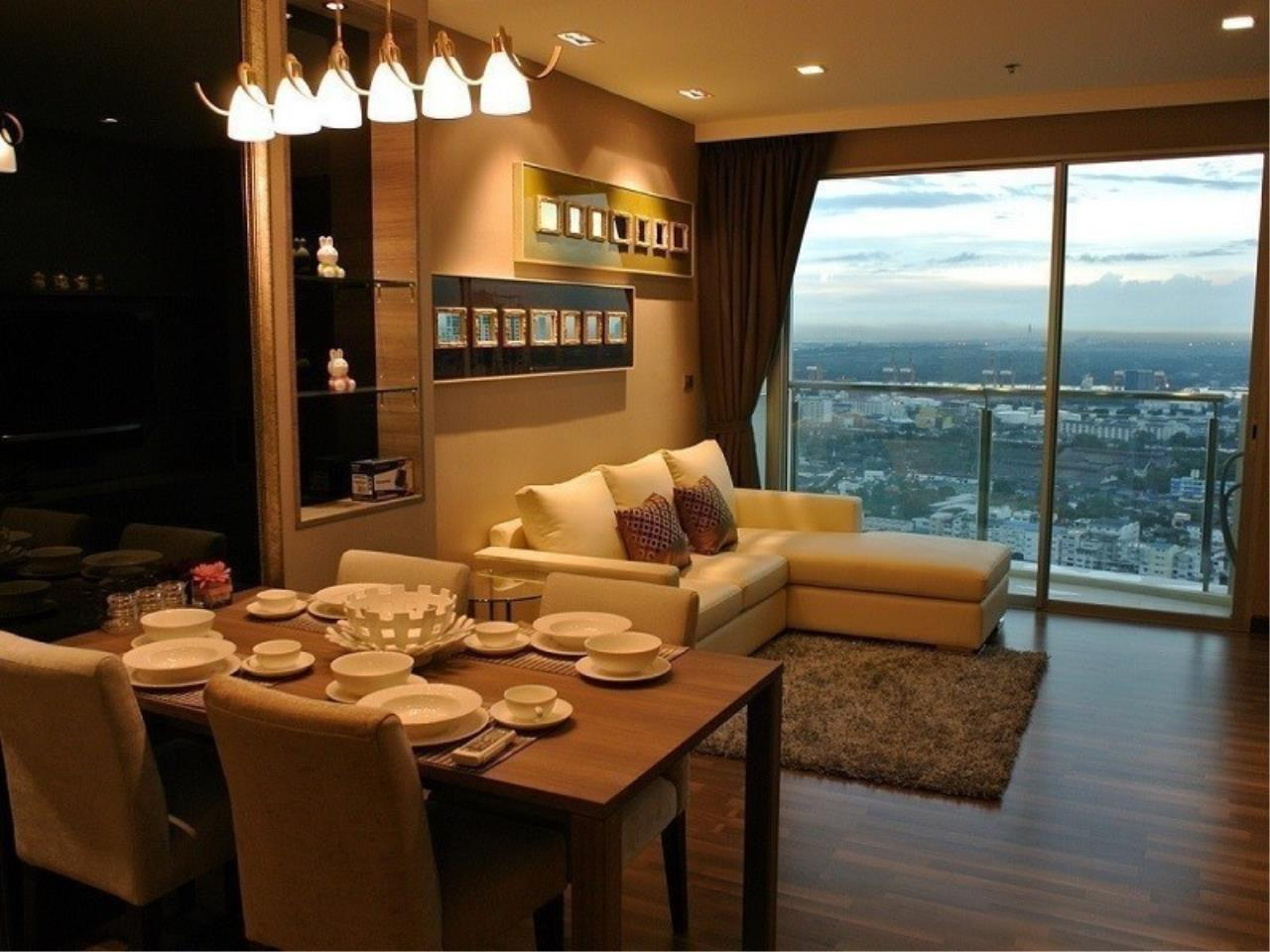 The One Residence Agency's condominium for sale , rent at Sky Walk Condominium , 2BR , 2BA , 91SQM 2