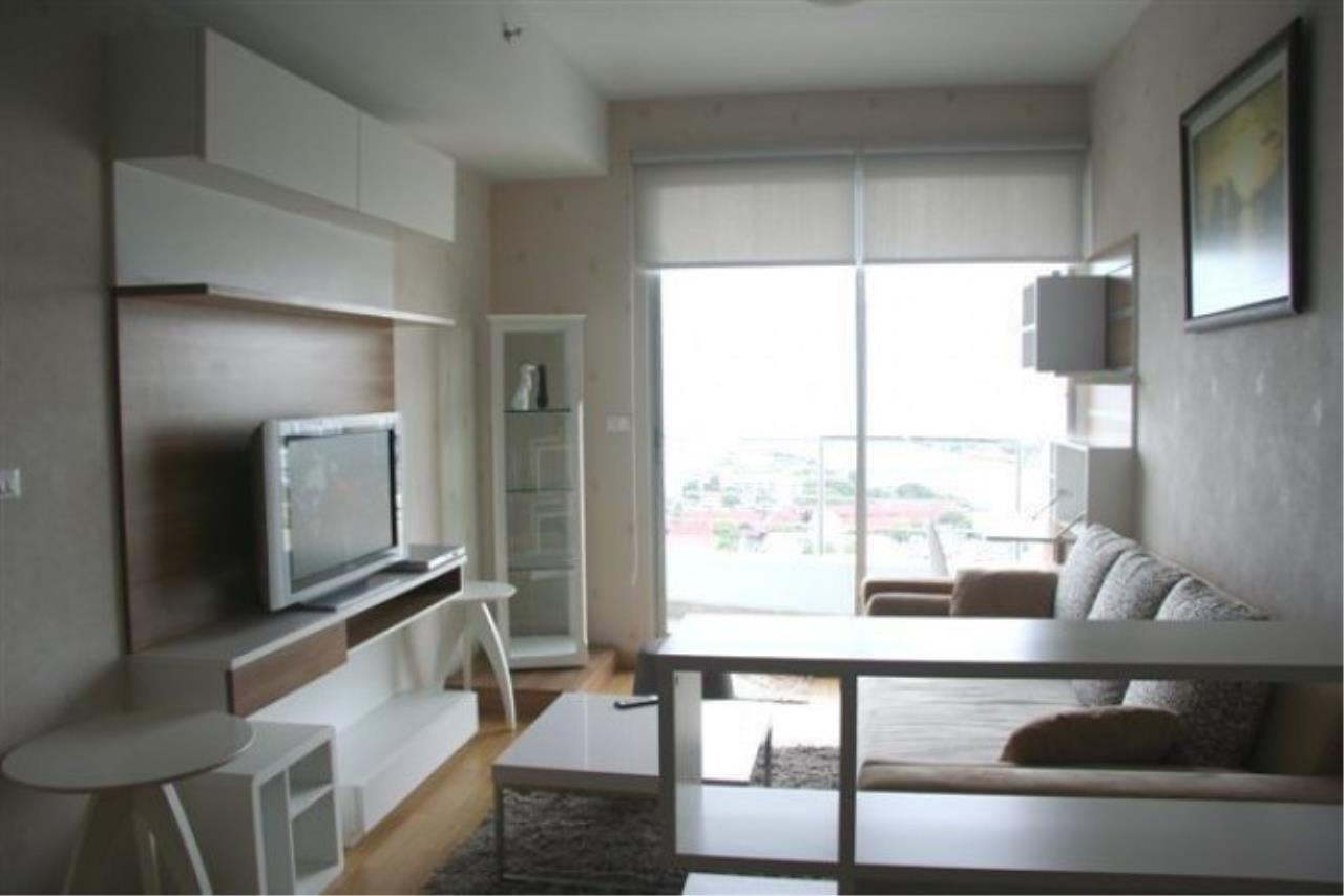 The One Residence Agency's condominium for rent at Supalai River Place , 1BR , 1BA , 54SQM 2