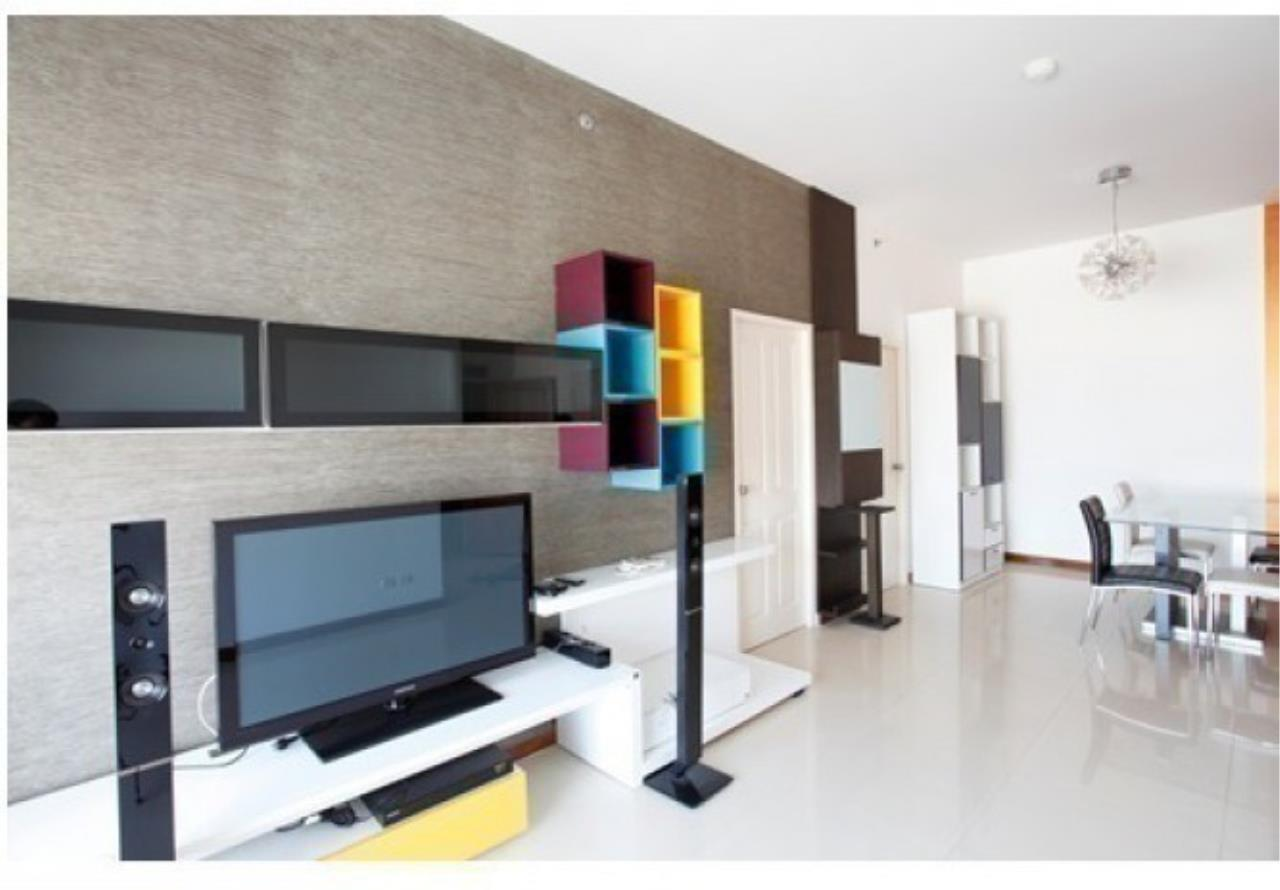 The One Residence Agency's condominium for rent at Supalai River Place , 2BR , 2BA , 80SQM 5