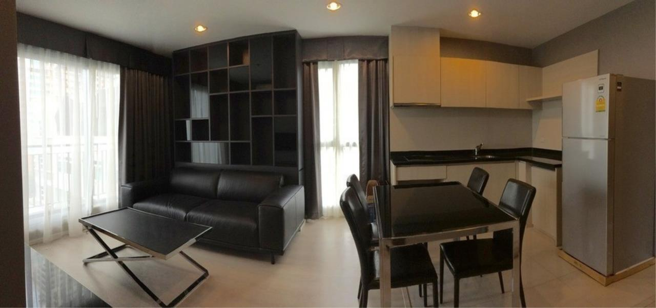 The One Residence Agency's condominium for Sale at Rhythm Sathorn - Narathiwas , 2BR , 2BA , 61SQM 3