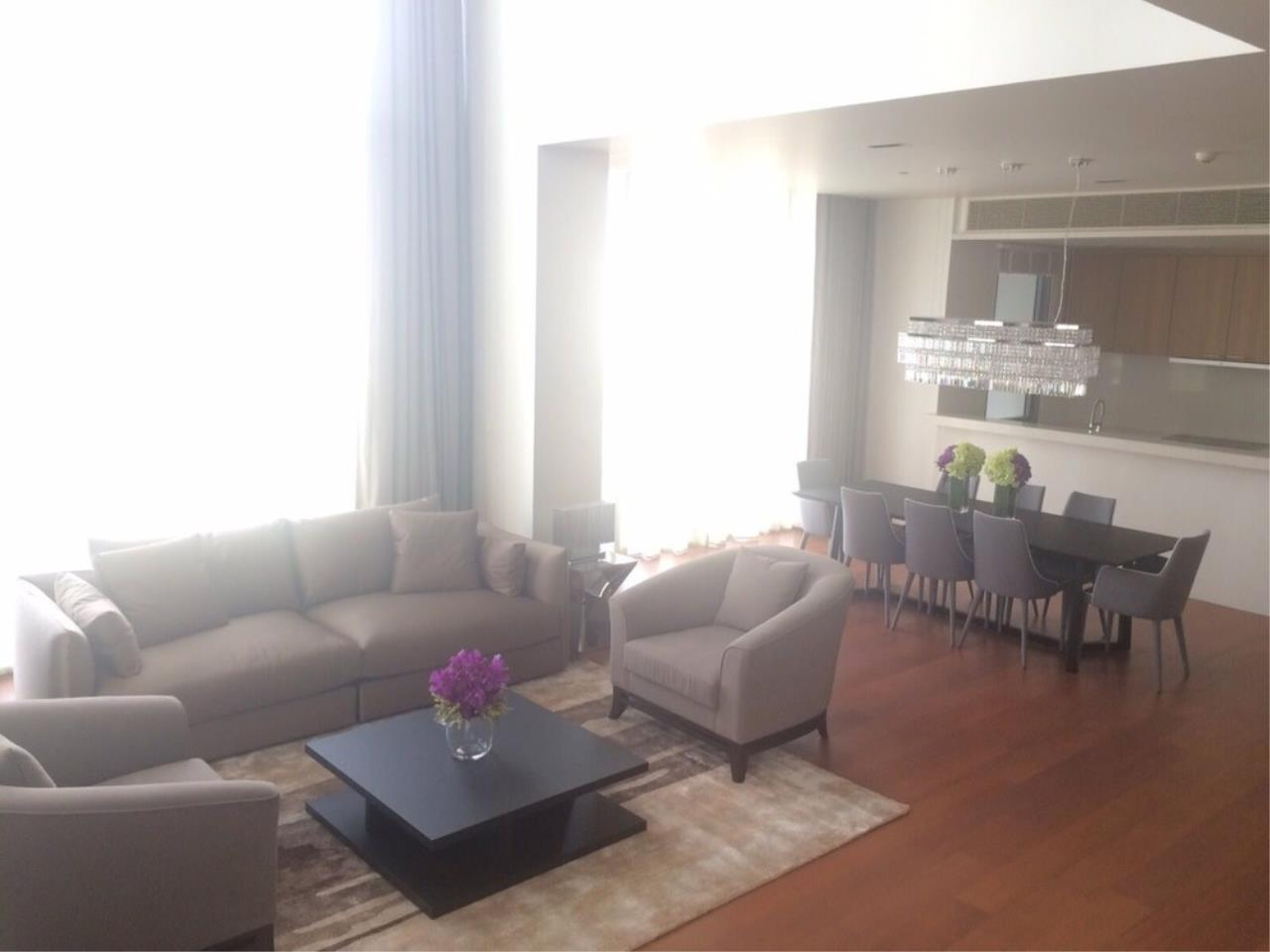 The One Residence Agency's condominium for Sale at The Sukhothai Residences , 4BR , 4BA , 429SQM 2