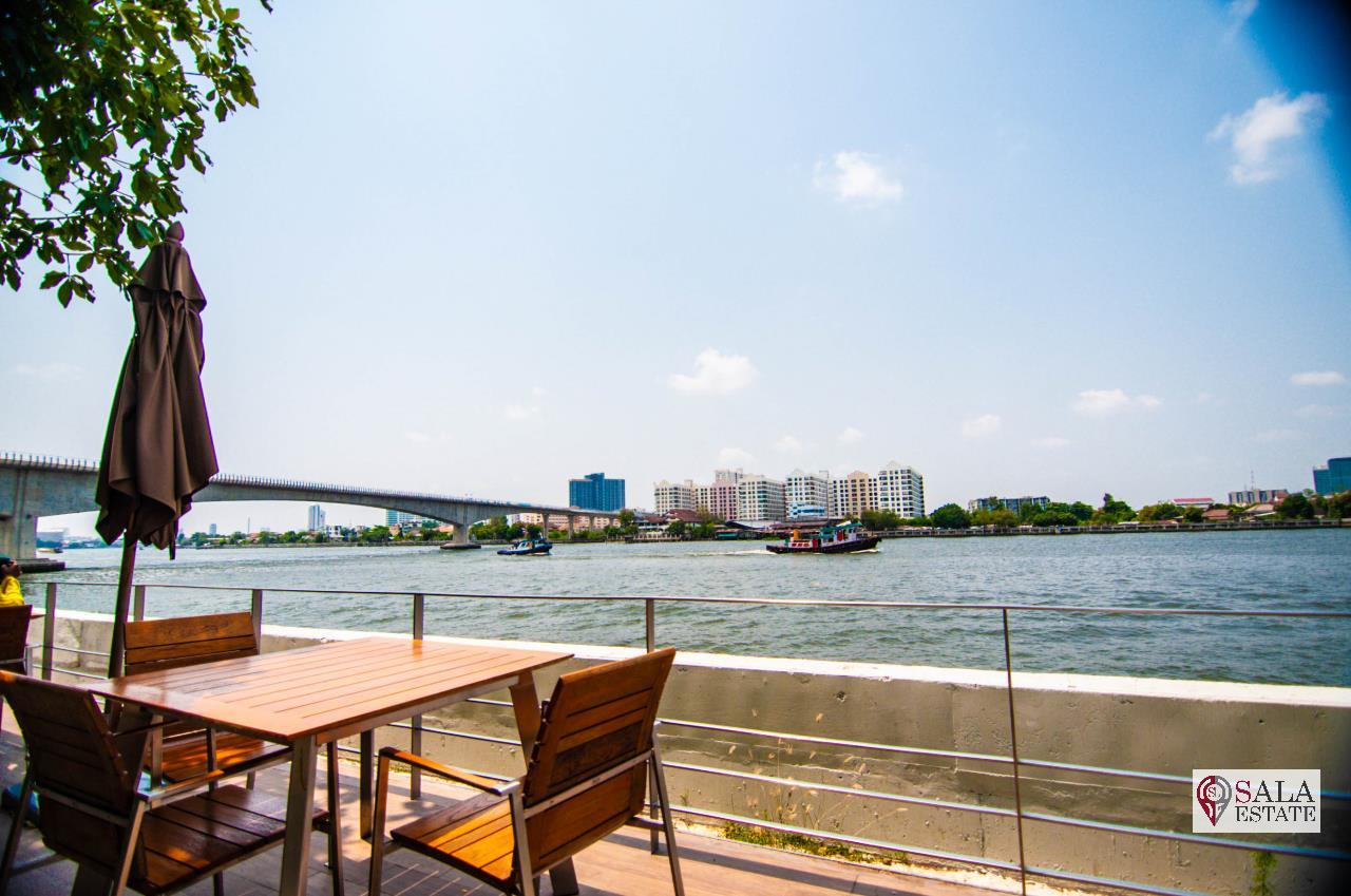 SALA ESTATE Agency's ( FOR RENT ) 333 RIVERSIDE CONDO - MRT BANG PHO, 2 BEDROOMS 2 BATHROOMS, FULLY FURNISHED, RIVER VIEW 17