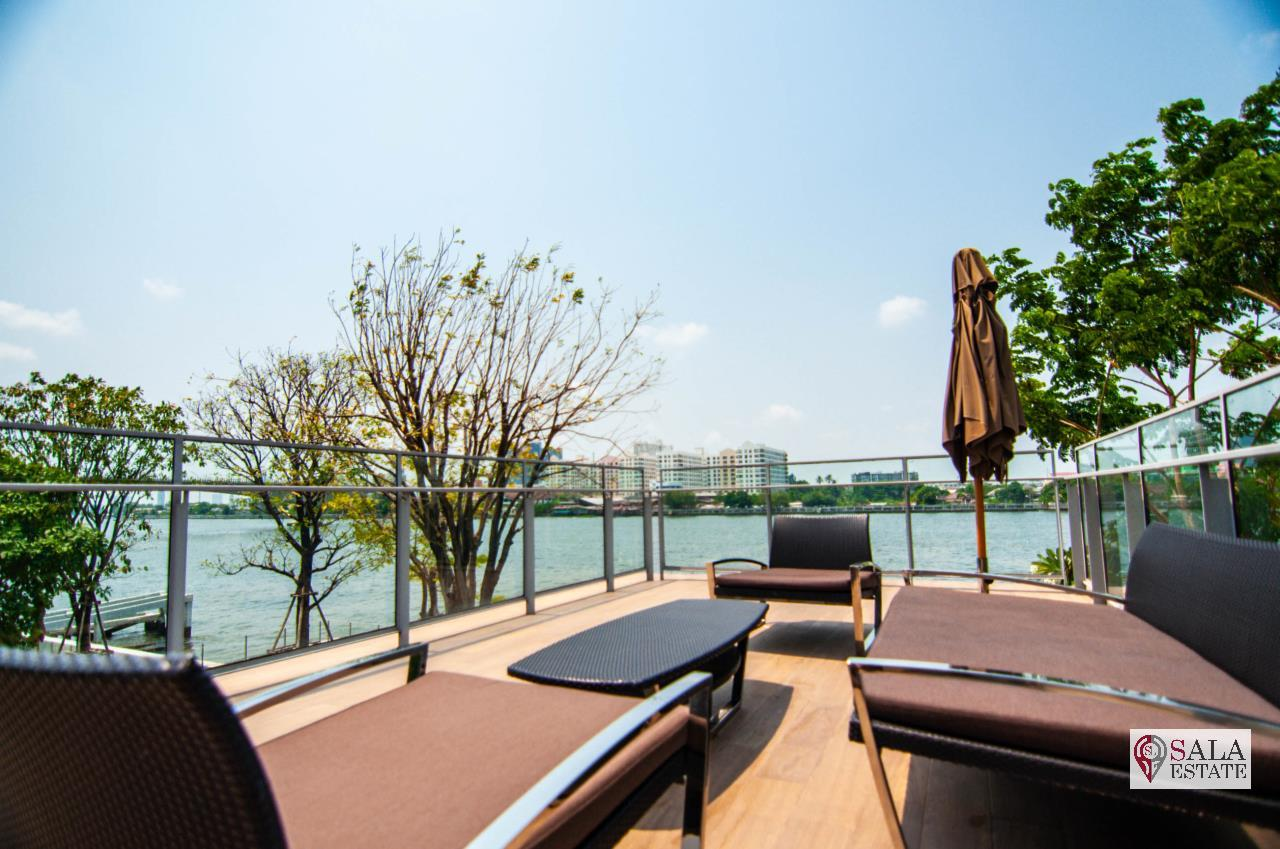 SALA ESTATE Agency's ( FOR RENT ) 333 RIVERSIDE CONDO - MRT BANG PHO, 2 BEDROOMS 2 BATHROOMS, FULLY FURNISHED, RIVER VIEW 18