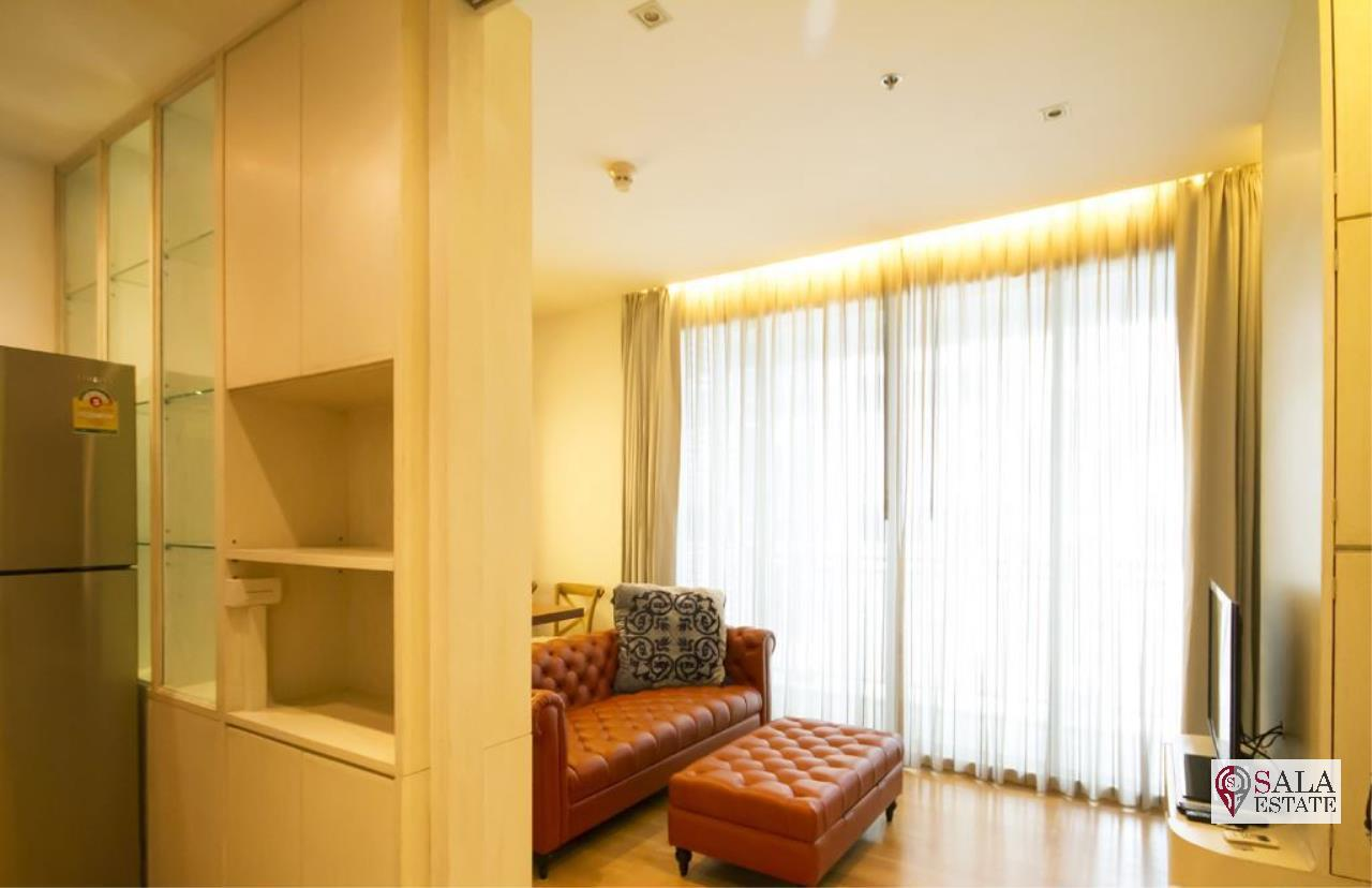 SALA ESTATE Agency's ( FOR SALE ) 39 BY SANSIRI - BTS PROMPONG, 55.73 SQM 1 BEDROOM 1 BATHROOM, FULLY FURNISHED, CITY VIEW 4
