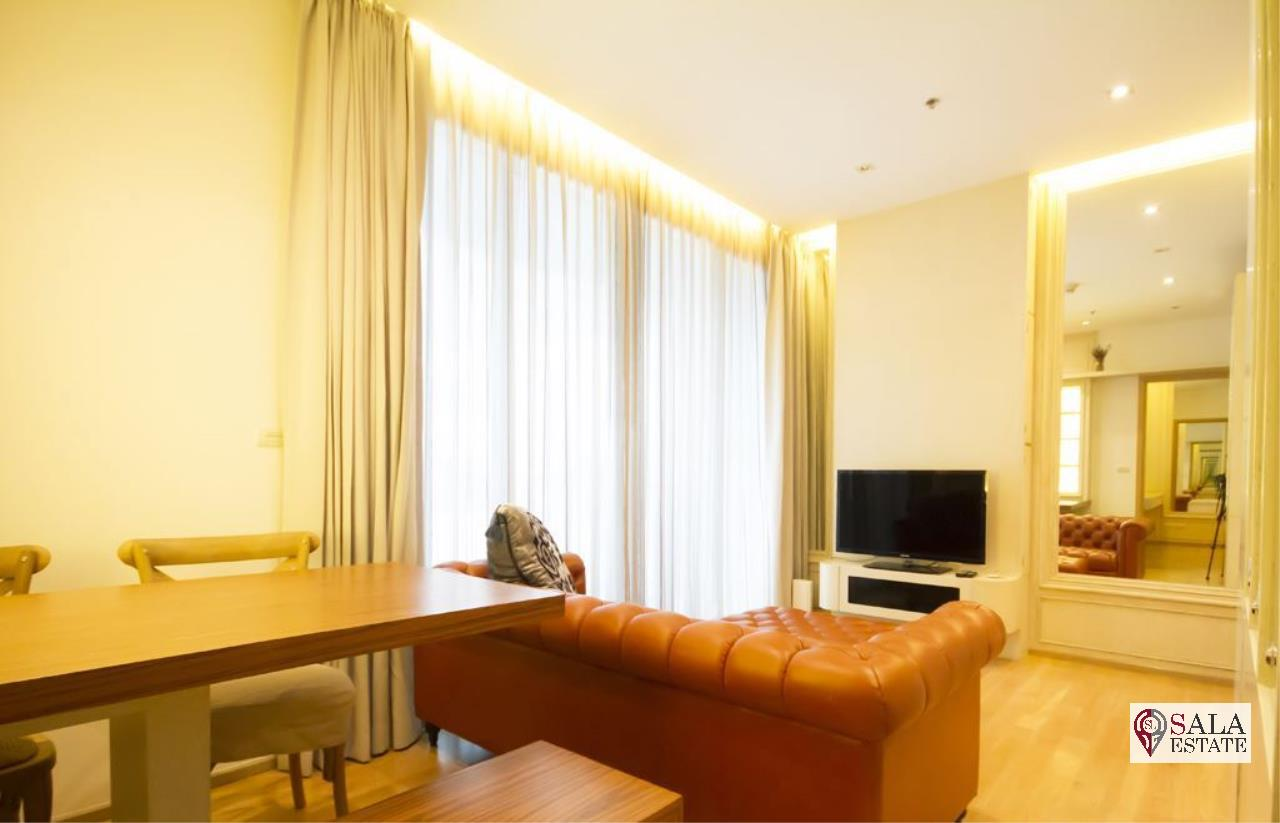 SALA ESTATE Agency's ( FOR SALE ) 39 BY SANSIRI - BTS PROMPONG, 55.73 SQM 1 BEDROOM 1 BATHROOM, FULLY FURNISHED, CITY VIEW 2