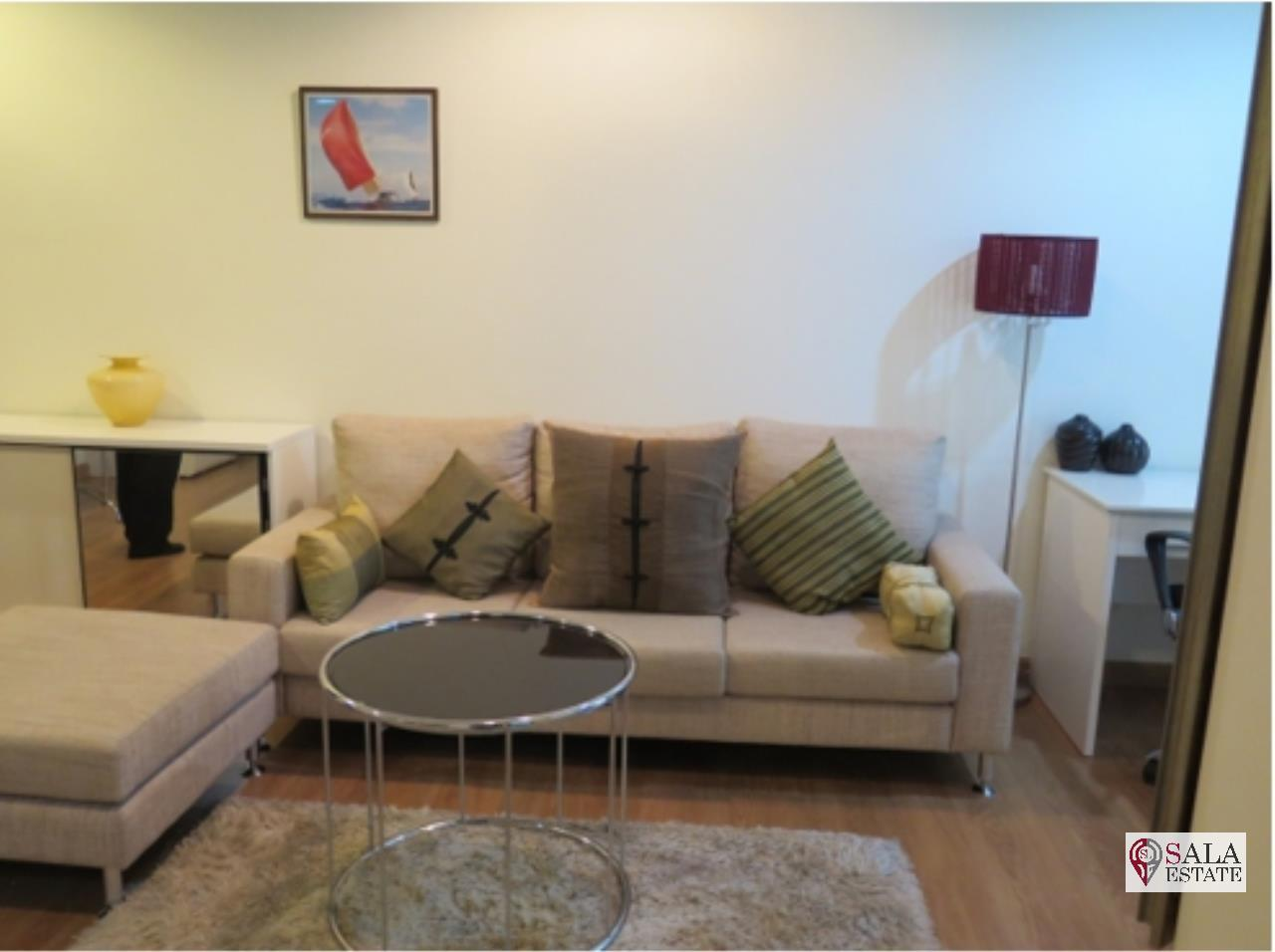 SALA ESTATE Agency's (FOR RENT)THE ADDRESS SUKHUMVIT 42 - BTS EKKAMAI 1 BEDROOM 1 BATHROOM CITY VIEW 1