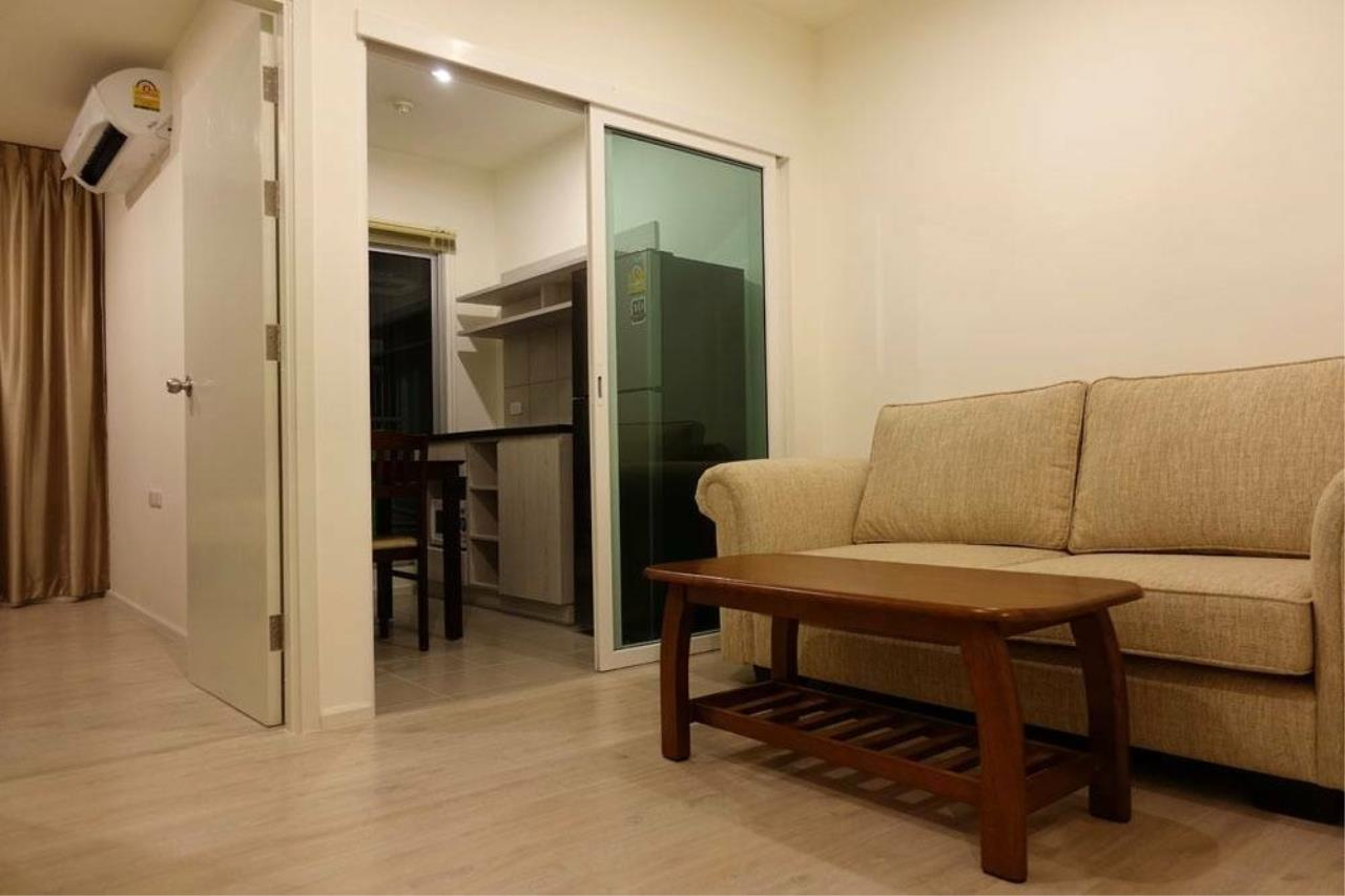 SALA ESTATE Agency's (FOR RENT)ASPIRE SATHORN - THAPRA – BTS TALAT PHLU, 31 SQM 1 BEDROOM 1 BATHROOM, FULLY FURNISHED 1