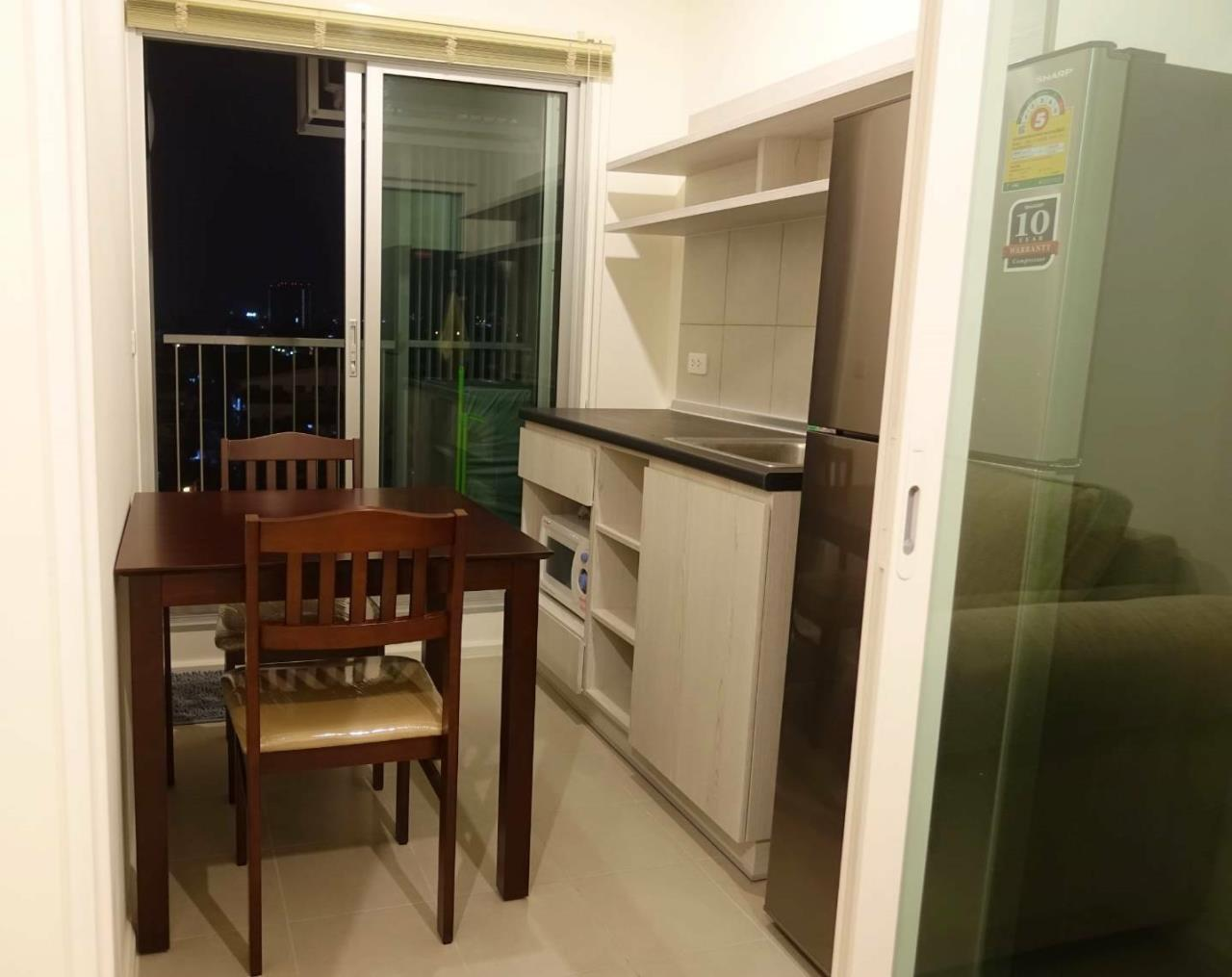 SALA ESTATE Agency's (FOR RENT)ASPIRE SATHORN - THAPRA – BTS TALAT PHLU, 31 SQM 1 BEDROOM 1 BATHROOM, FULLY FURNISHED 6