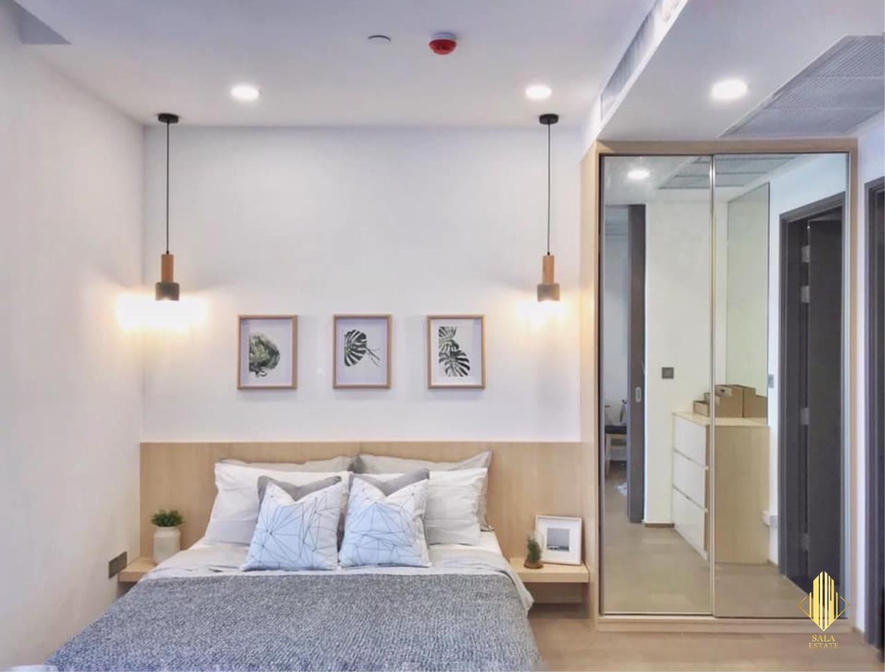 SALA ESTATE Agency's ( FOR RENT ) ASHTON CHULA SILOM – MRT SAMYAN, 31 SQM 1 BEDROOM 1 BEDROOM, FULLY FURNISHED, HIGH FLOOR 5