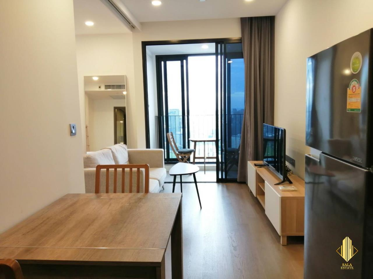 SALA ESTATE Agency's ( FOR RENT ) ASHTON CHULA SILOM – MRT SAMYAN, 40 SQM 1 BEDROOM 1 BEDROOM, FULLY FURNISHED, HIGH FLOOR 1
