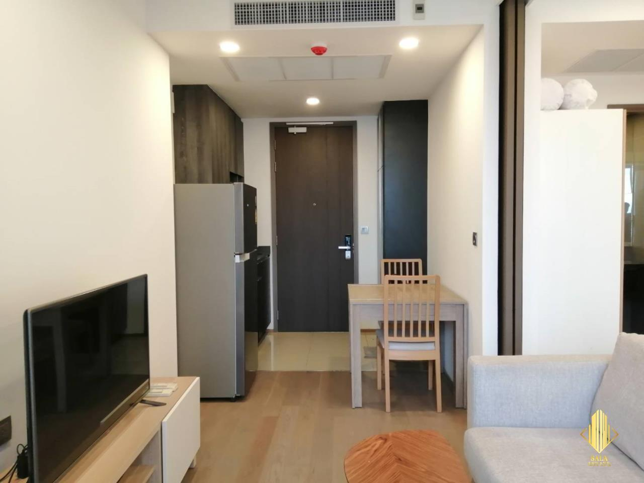SALA ESTATE Agency's ( FOR RENT ) ASHTON CHULA SILOM – MRT SAMYAN, 40 SQM 1 BEDROOM 1 BEDROOM, FULLY FURNISHED, HIGH FLOOR 2