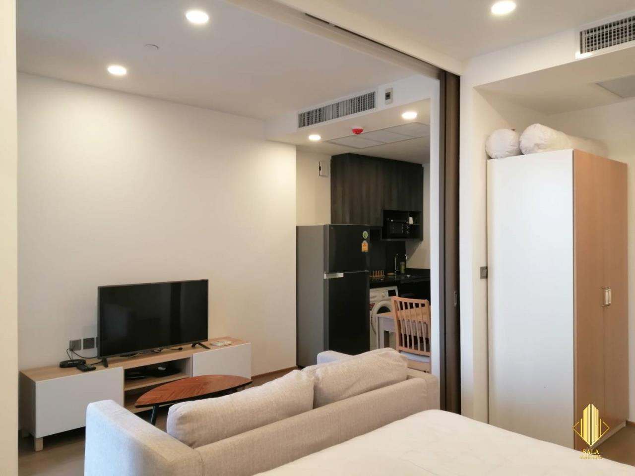 SALA ESTATE Agency's ( FOR RENT ) ASHTON CHULA SILOM – MRT SAMYAN, 40 SQM 1 BEDROOM 1 BEDROOM, FULLY FURNISHED, HIGH FLOOR 6