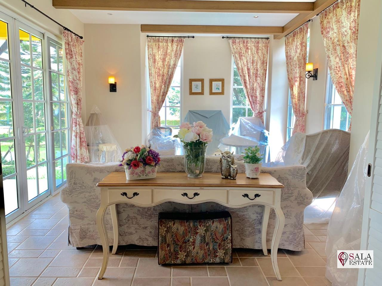 SALA ESTATE Agency's (FOR SALE ONLY 18 MB) PRIVATE LUXURY HOUSE IN KHAO YAI - MAGNOLIAS FRENCH COUNTRY KHAO YAI 3
