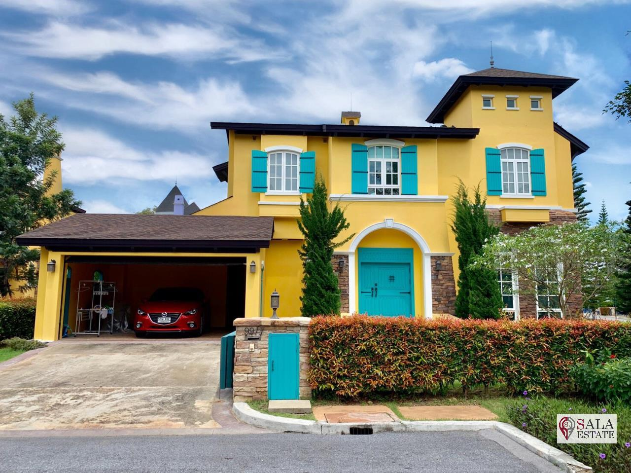 SALA ESTATE Agency's (FOR SALE ONLY 18 MB) PRIVATE LUXURY HOUSE IN KHAO YAI - MAGNOLIAS FRENCH COUNTRY KHAO YAI 1