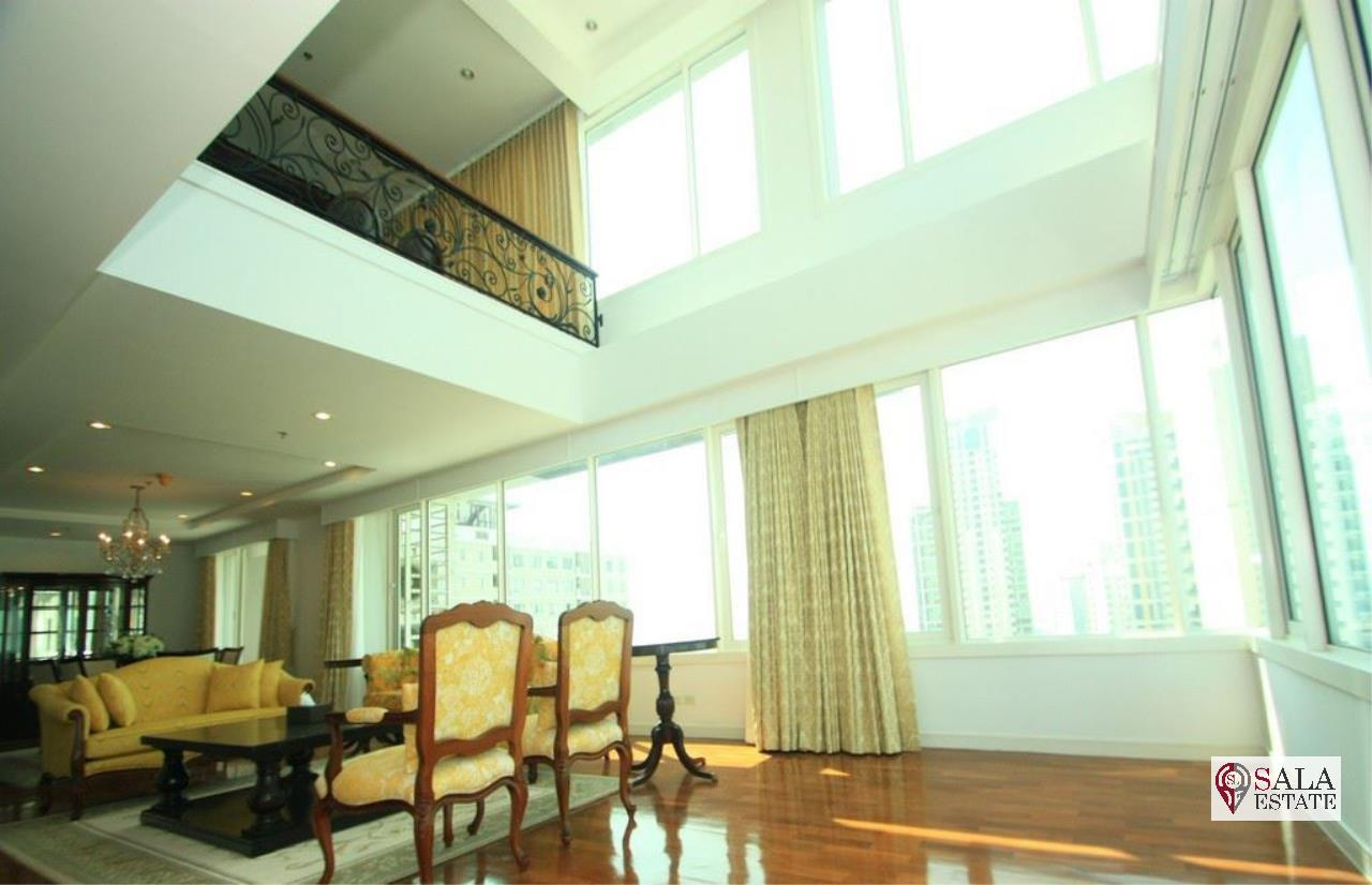 SALA ESTATE Agency's ( FOR SALE ) BAAN SIRI 24 – BTS PHROM PHONG, DUPLEX TYPE 271.66 SQM 4 BEDROOMS 4 BATHROOMS, FULLY FURNISHED, CITY VIEW 1