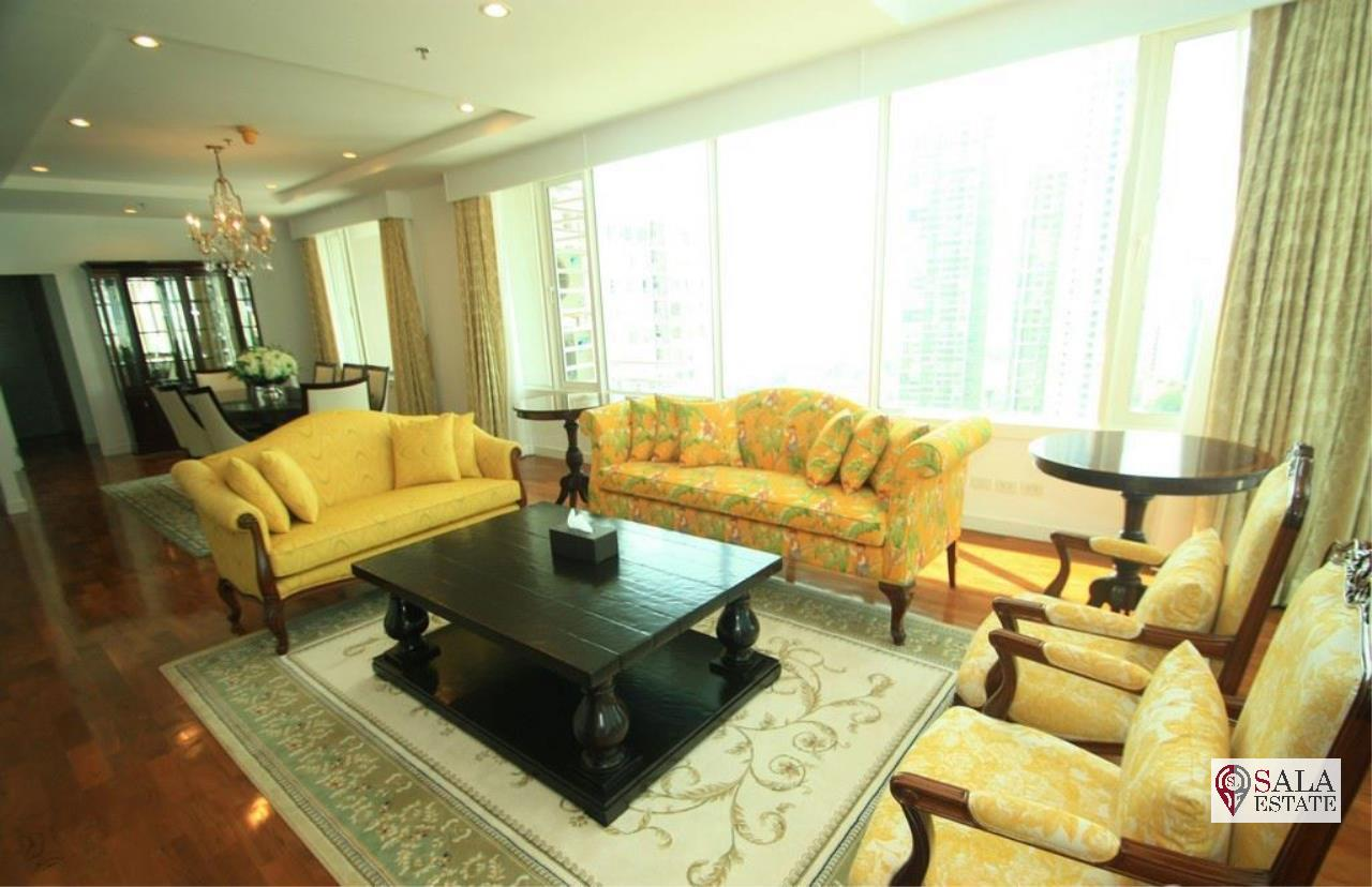 SALA ESTATE Agency's ( FOR SALE ) BAAN SIRI 24 – BTS PHROM PHONG, DUPLEX TYPE 271.66 SQM 4 BEDROOMS 4 BATHROOMS, FULLY FURNISHED, CITY VIEW 2