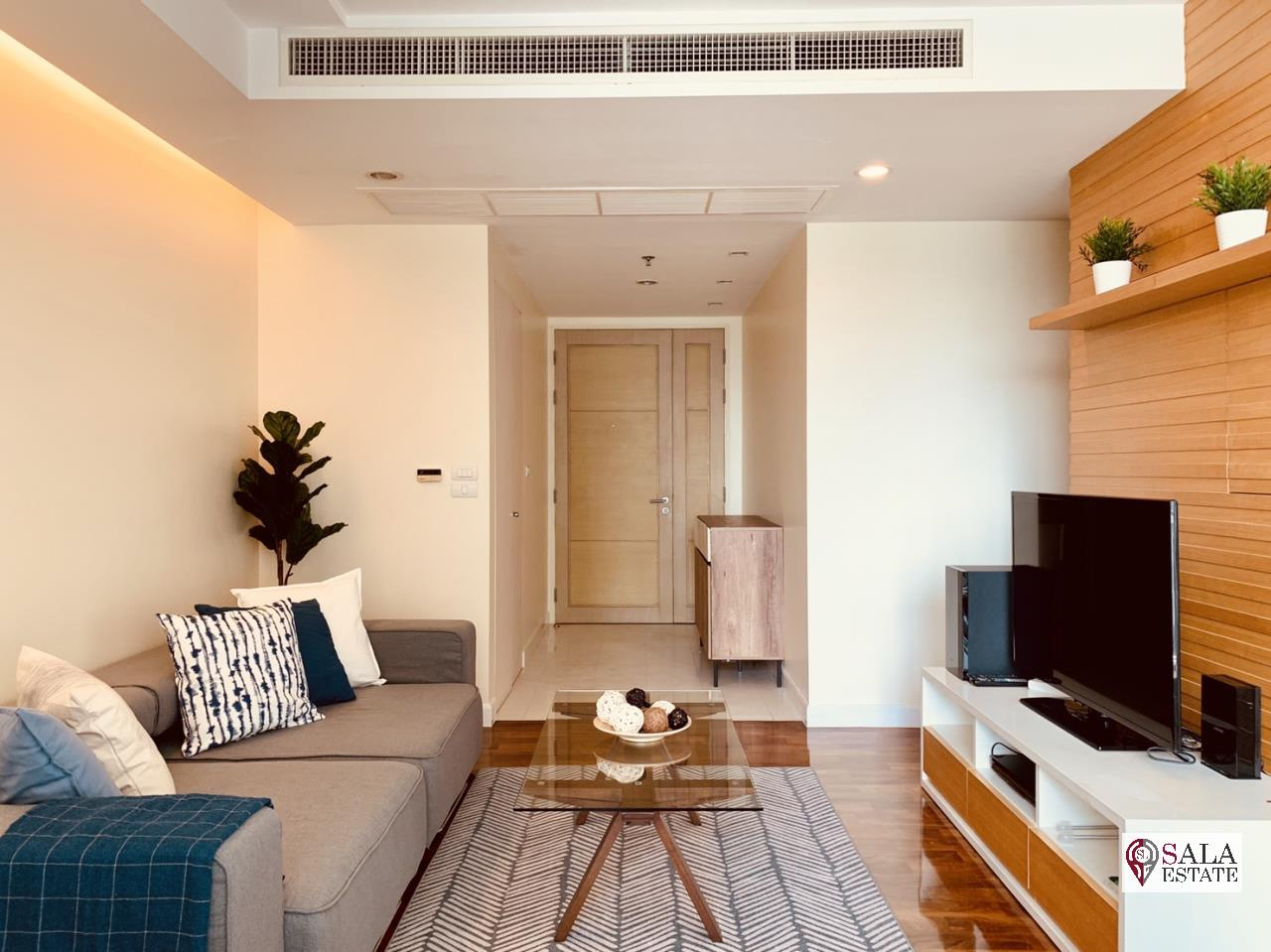 SALA ESTATE Agency's ( FOR RENT ) BAAN SIRI 31 – BTS PHROM PHONG, 58 SQM 1 BEDROOM 1 BATHROOM, FULLY FURNISHED, CITY VIEW 2