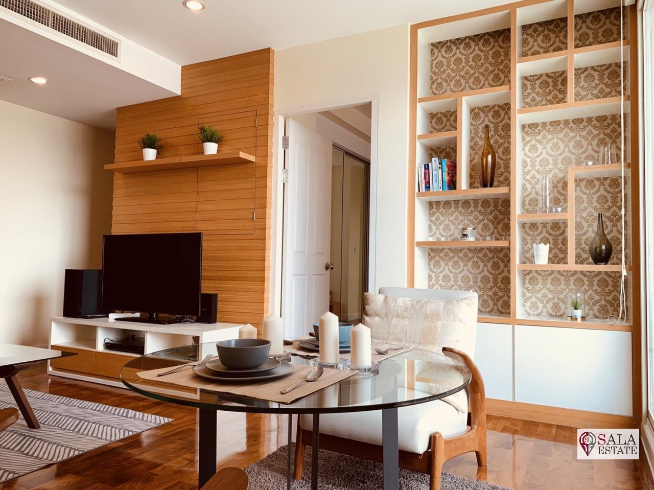 SALA ESTATE Agency's ( FOR RENT ) BAAN SIRI 31 – BTS PHROM PHONG, 58 SQM 1 BEDROOM 1 BATHROOM, FULLY FURNISHED, CITY VIEW 5