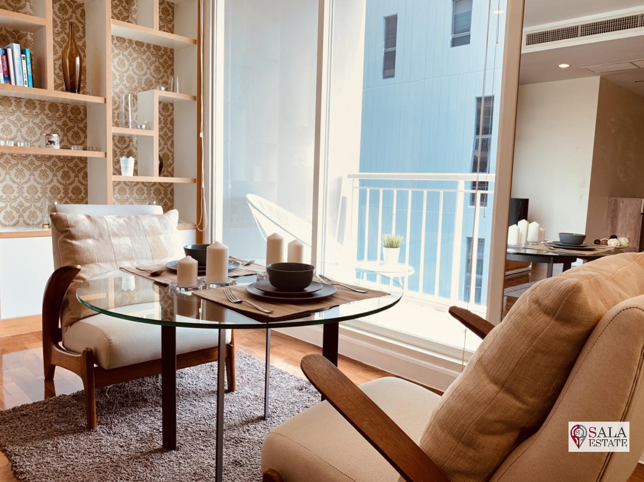 SALA ESTATE Agency's ( FOR RENT ) BAAN SIRI 31 – BTS PHROM PHONG, 58 SQM 1 BEDROOM 1 BATHROOM, FULLY FURNISHED, CITY VIEW 4