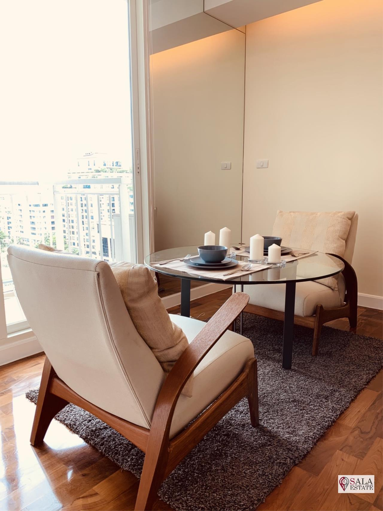 SALA ESTATE Agency's ( FOR RENT ) BAAN SIRI 31 – BTS PHROM PHONG, 58 SQM 1 BEDROOM 1 BATHROOM, FULLY FURNISHED, CITY VIEW 6